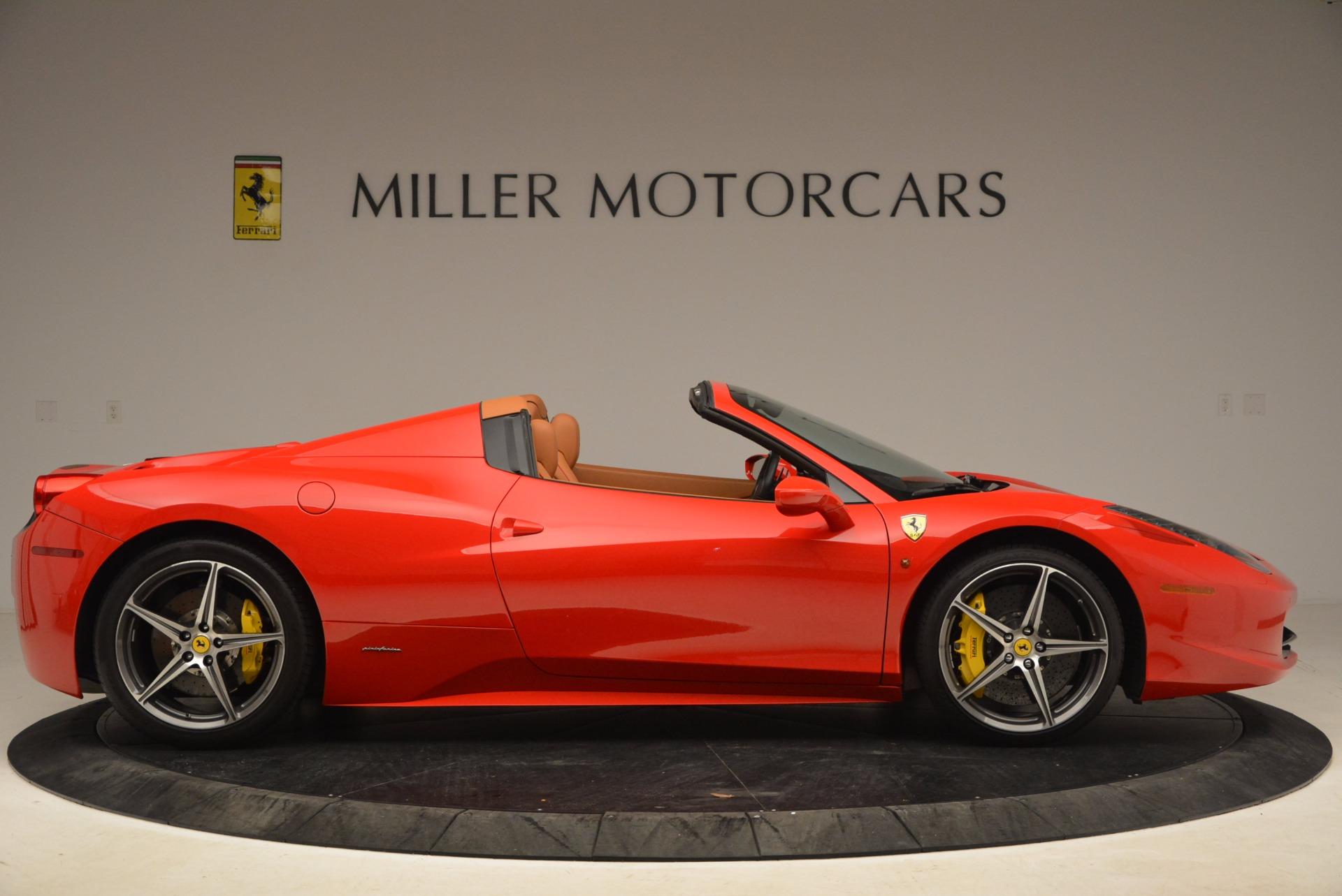 Used 2013 Ferrari 458 Spider  For Sale In Greenwich, CT. Alfa Romeo of Greenwich, 4433 1784_p9