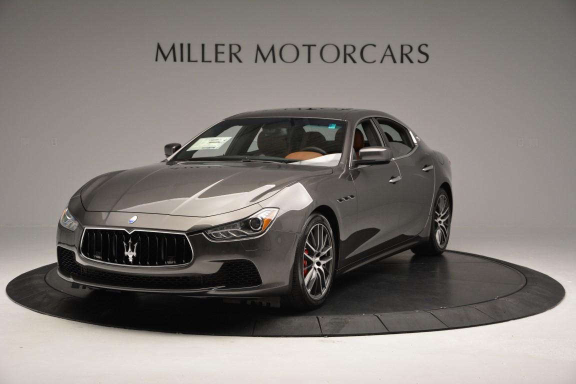 New 2016 Maserati Ghibli S Q4 For Sale In Greenwich, CT. Alfa Romeo of Greenwich, M1523 179_main
