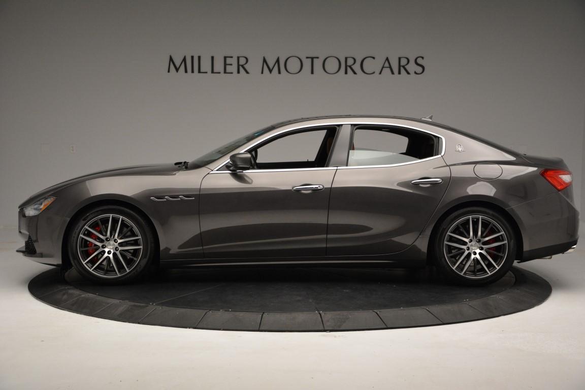 New 2016 Maserati Ghibli S Q4 For Sale In Greenwich, CT. Alfa Romeo of Greenwich, M1523 179_p3