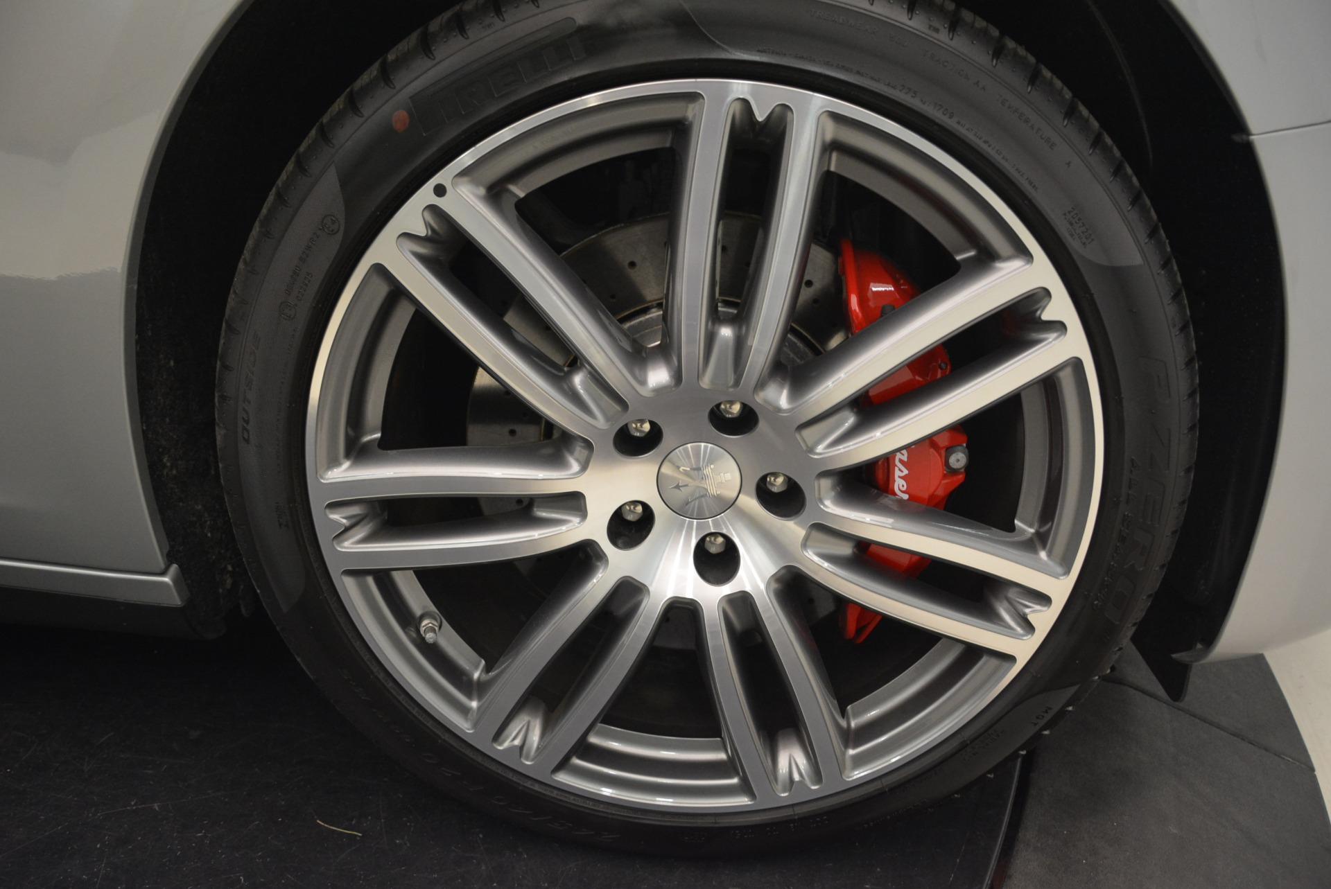 New 2018 Maserati Ghibli S Q4 For Sale In Greenwich, CT. Alfa Romeo of Greenwich, W525 1797_p27
