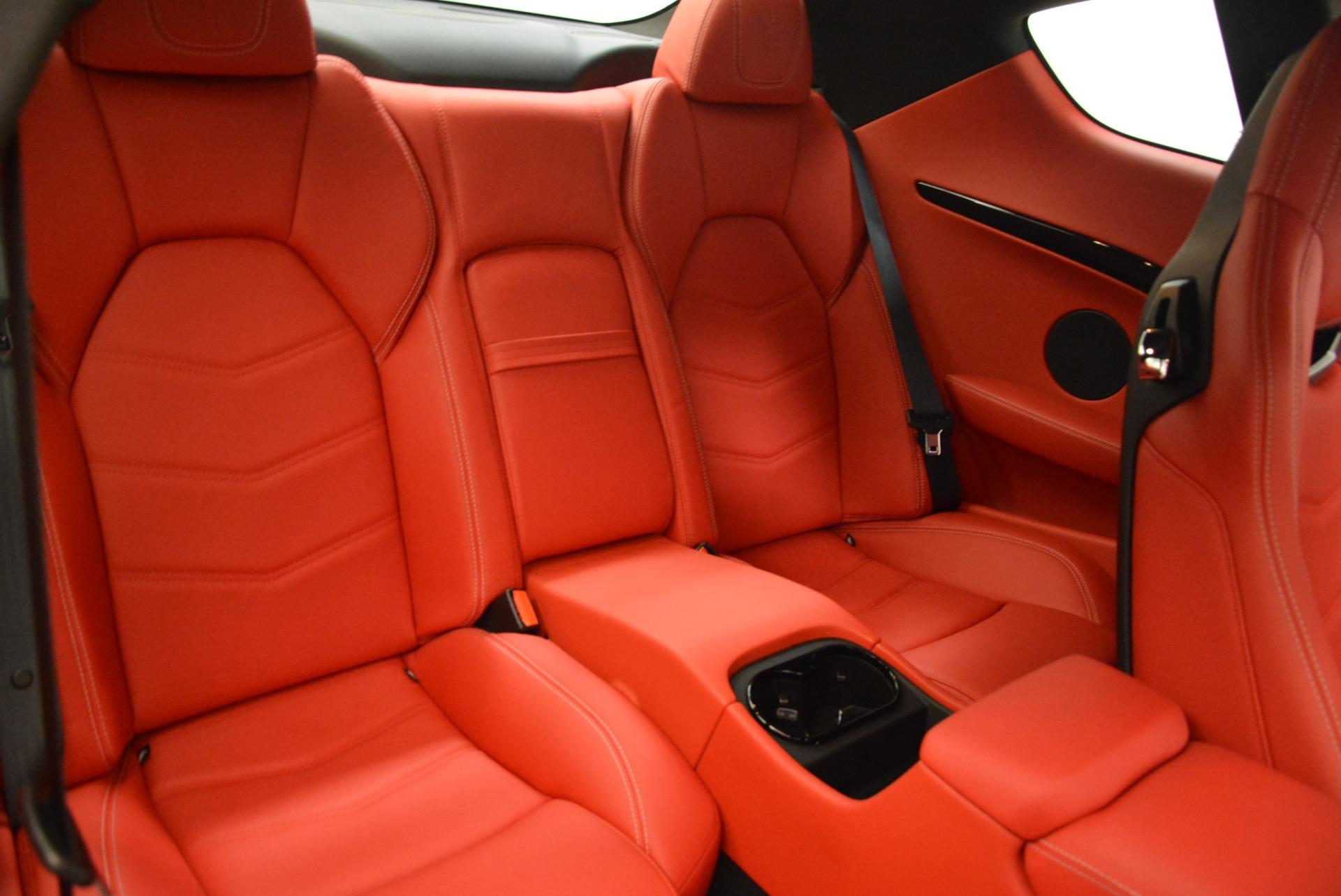 New 2018 Maserati GranTurismo Sport For Sale In Greenwich, CT. Alfa Romeo of Greenwich, W529 1799_p22