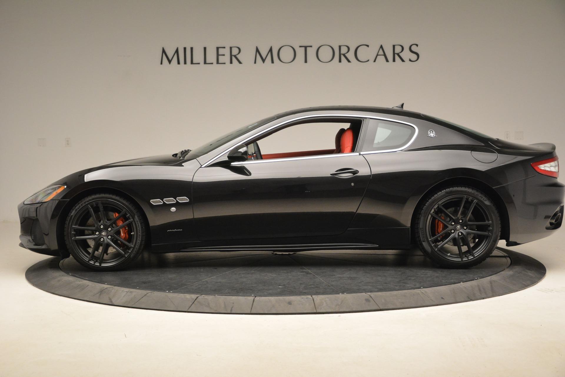 New 2018 Maserati GranTurismo Sport For Sale In Greenwich, CT. Alfa Romeo of Greenwich, W529 1799_p2