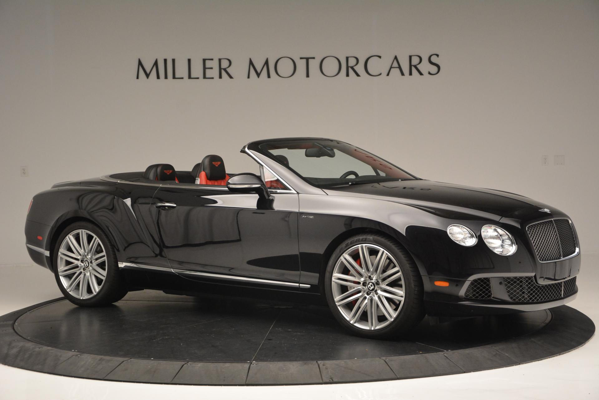 Used 2014 Bentley Continental GT Speed Convertible For Sale In Greenwich, CT. Alfa Romeo of Greenwich, 7001 18_p10