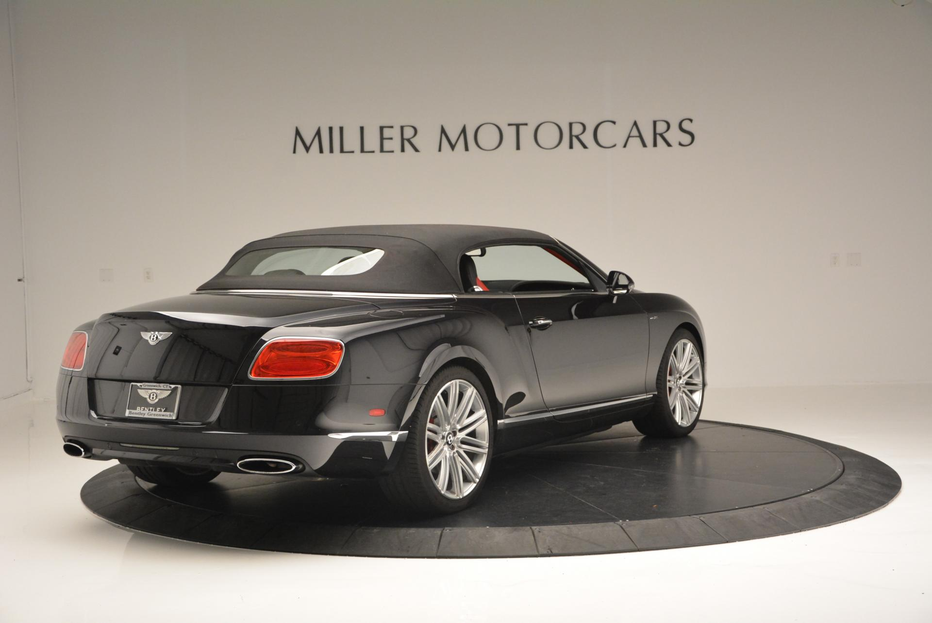 Used 2014 Bentley Continental GT Speed Convertible For Sale In Greenwich, CT. Alfa Romeo of Greenwich, 7001 18_p20