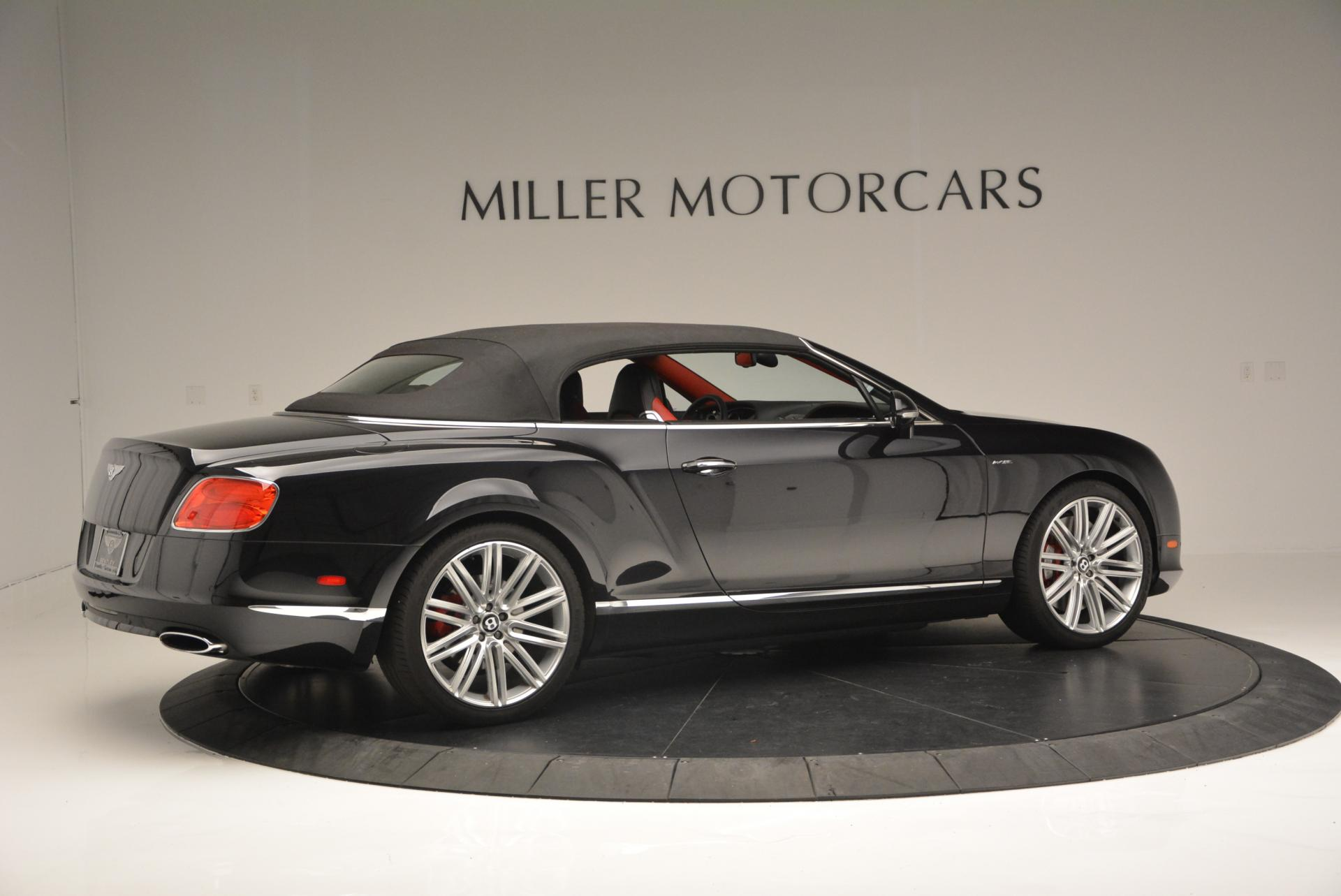 Used 2014 Bentley Continental GT Speed Convertible For Sale In Greenwich, CT. Alfa Romeo of Greenwich, 7001 18_p21