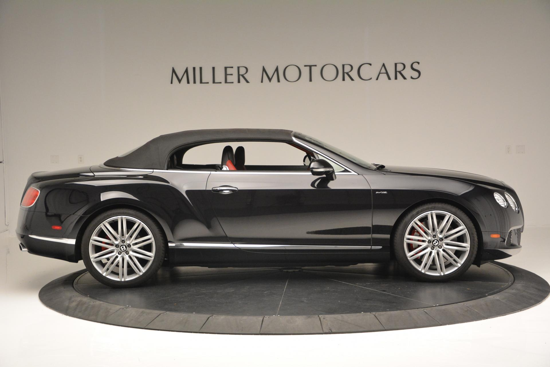 Used 2014 Bentley Continental GT Speed Convertible For Sale In Greenwich, CT. Alfa Romeo of Greenwich, 7001 18_p22