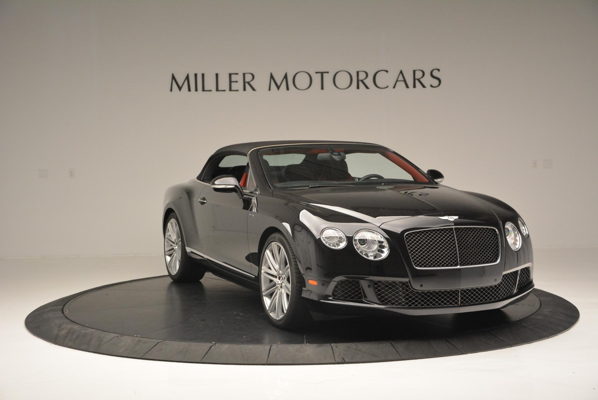 Used 2014 Bentley Continental GT Speed Convertible For Sale In Greenwich, CT. Alfa Romeo of Greenwich, 7001 18_p24