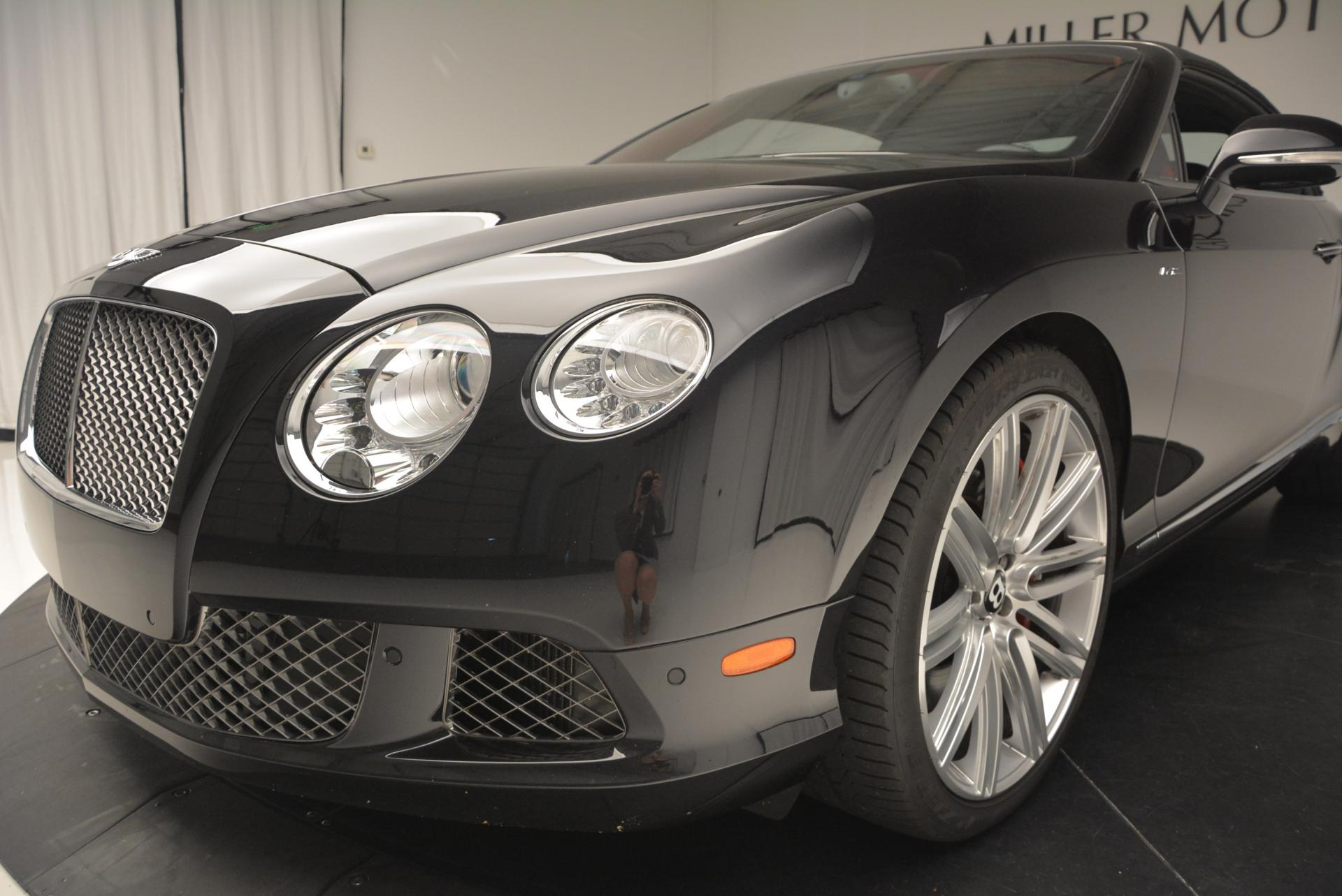 Used 2014 Bentley Continental GT Speed Convertible For Sale In Greenwich, CT. Alfa Romeo of Greenwich, 7001 18_p26