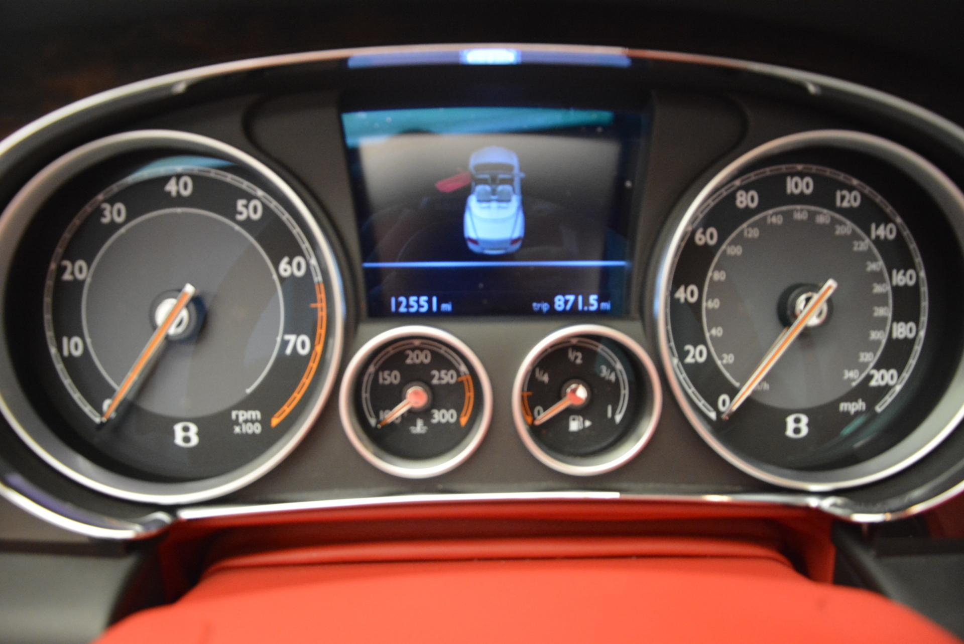 Used 2014 Bentley Continental GT Speed Convertible For Sale In Greenwich, CT. Alfa Romeo of Greenwich, 7001 18_p37