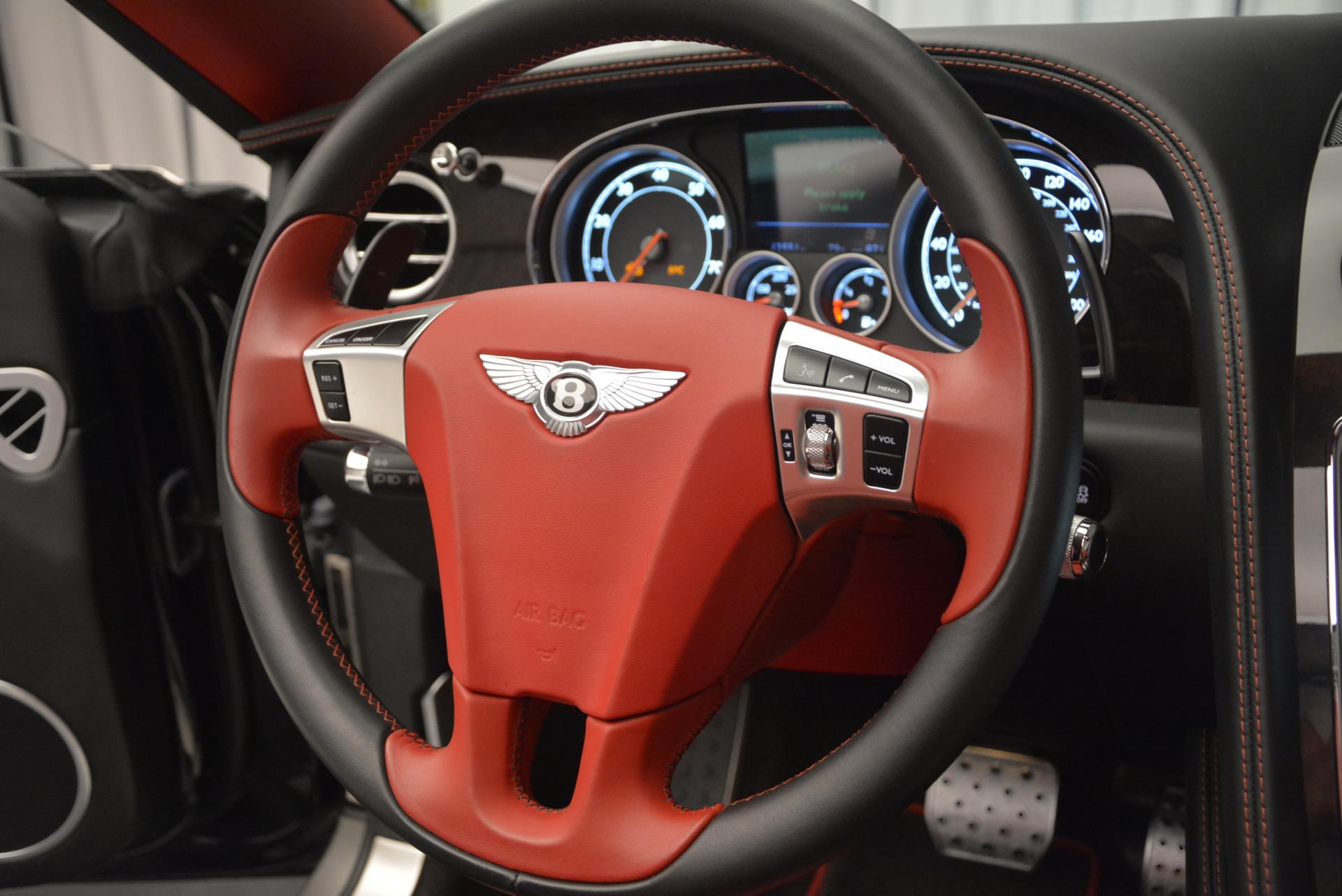 Used 2014 Bentley Continental GT Speed Convertible For Sale In Greenwich, CT. Alfa Romeo of Greenwich, 7001 18_p38