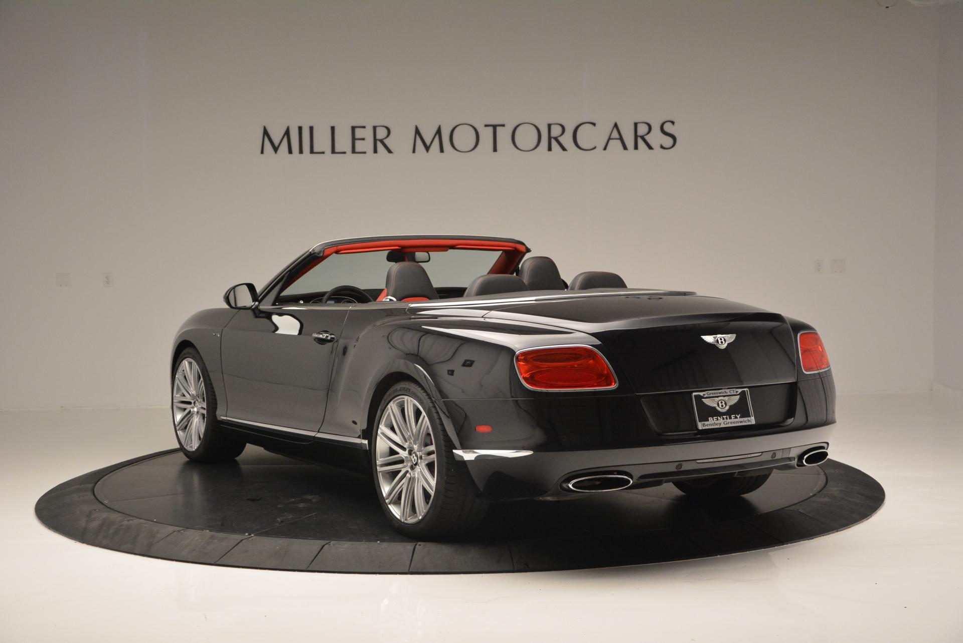 Used 2014 Bentley Continental GT Speed Convertible For Sale In Greenwich, CT. Alfa Romeo of Greenwich, 7001 18_p5