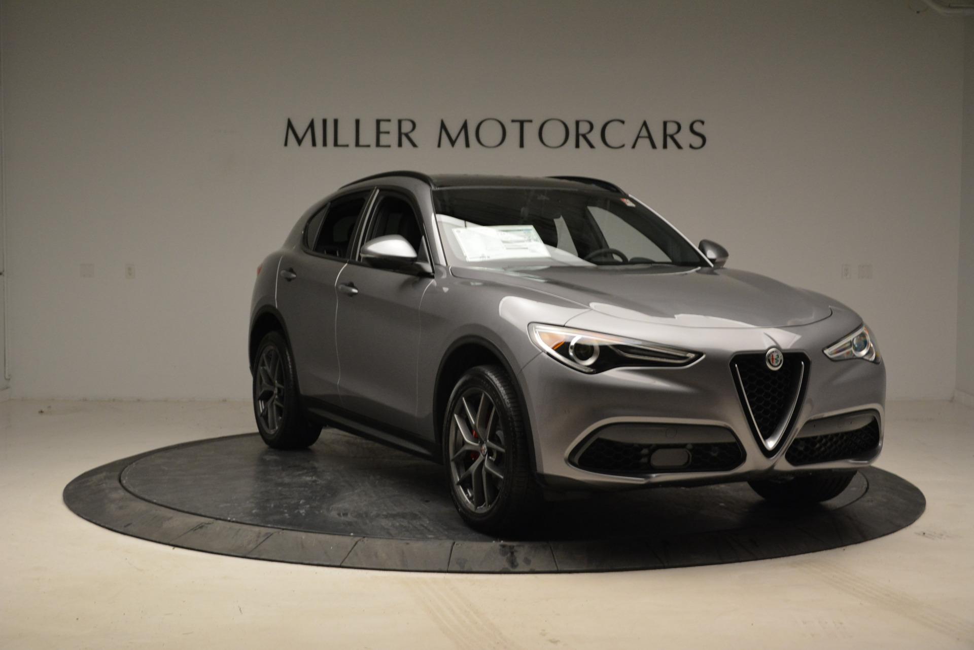 New 2018 Alfa Romeo Stelvio Ti Sport Q4 For Sale In Greenwich, CT. Alfa Romeo of Greenwich, L308 1805_p11