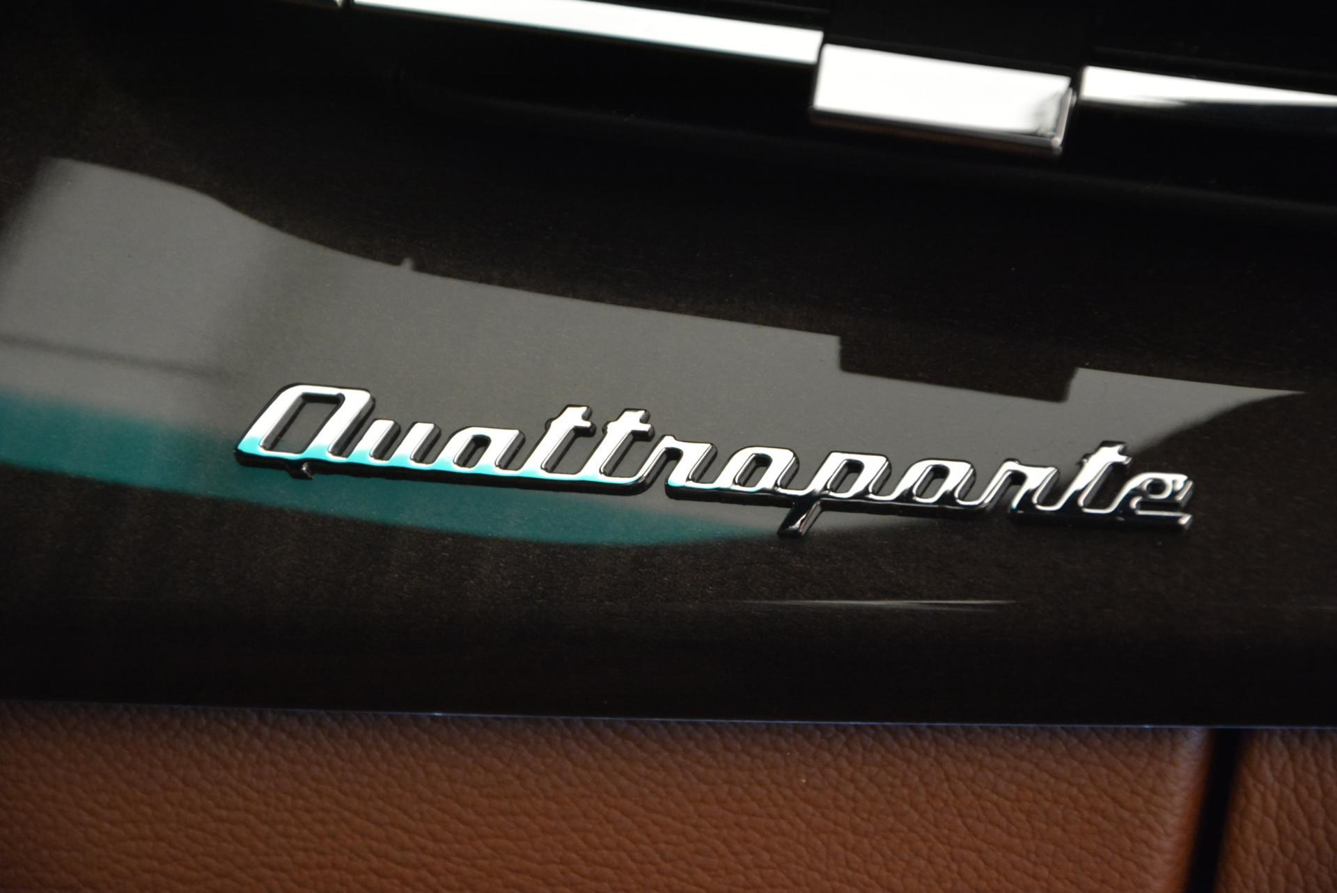 New 2016 Maserati Quattroporte S Q4 For Sale In Greenwich, CT. Alfa Romeo of Greenwich, M1573 181_p20