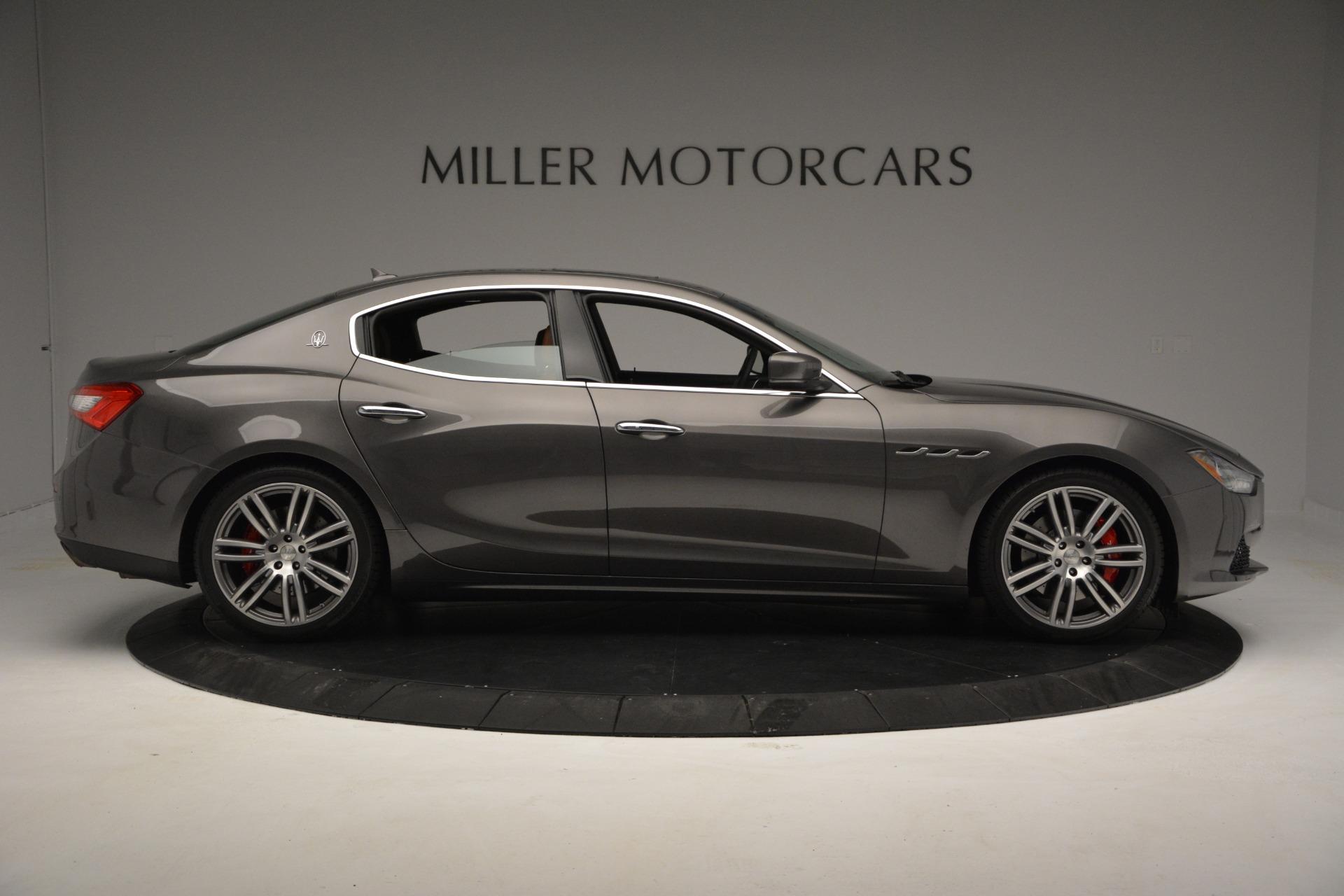 New 2018 Maserati Ghibli S Q4 For Sale In Greenwich, CT. Alfa Romeo of Greenwich, W533 1812_p10