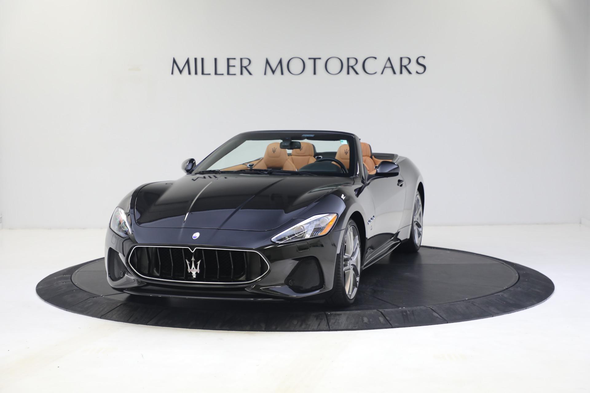 New 2018 Maserati GranTurismo Sport Convertible For Sale In Greenwich, CT. Alfa Romeo of Greenwich, M1973 1814_main