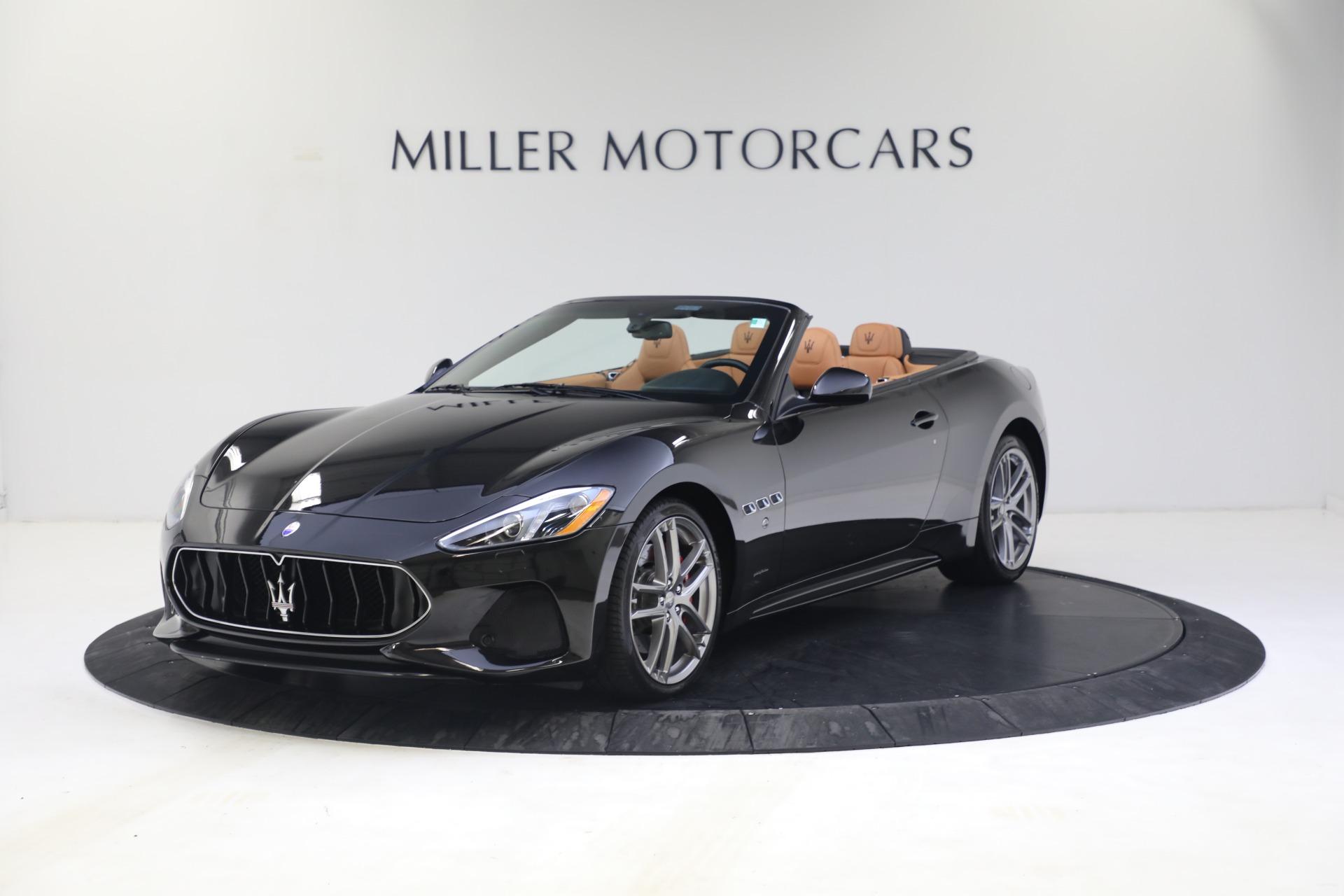 New 2018 Maserati GranTurismo Sport Convertible For Sale In Greenwich, CT. Alfa Romeo of Greenwich, M1973 1814_p2