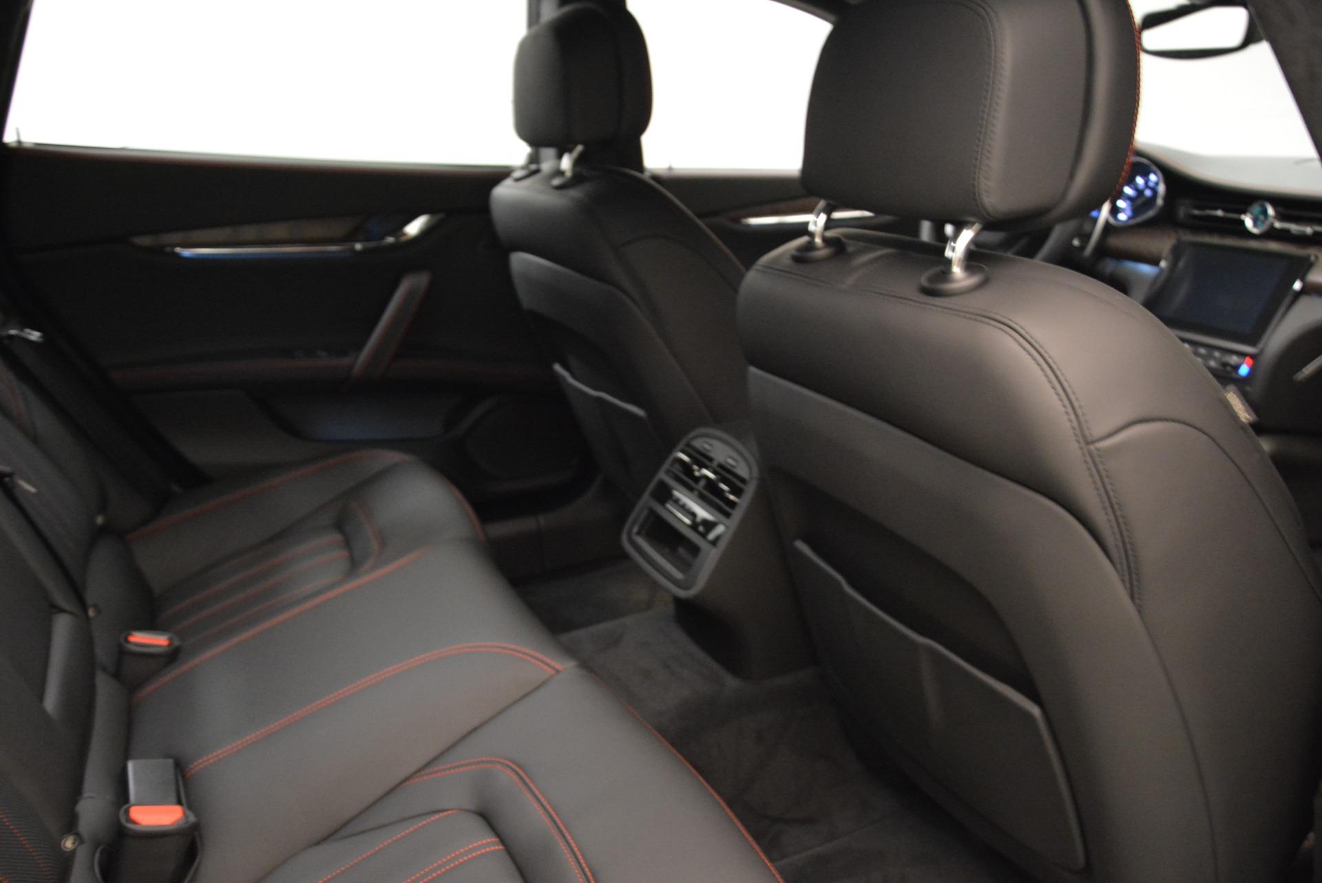 New 2018 Maserati Quattroporte S Q4 GranLusso For Sale In Greenwich, CT. Alfa Romeo of Greenwich, M1977 1815_p23