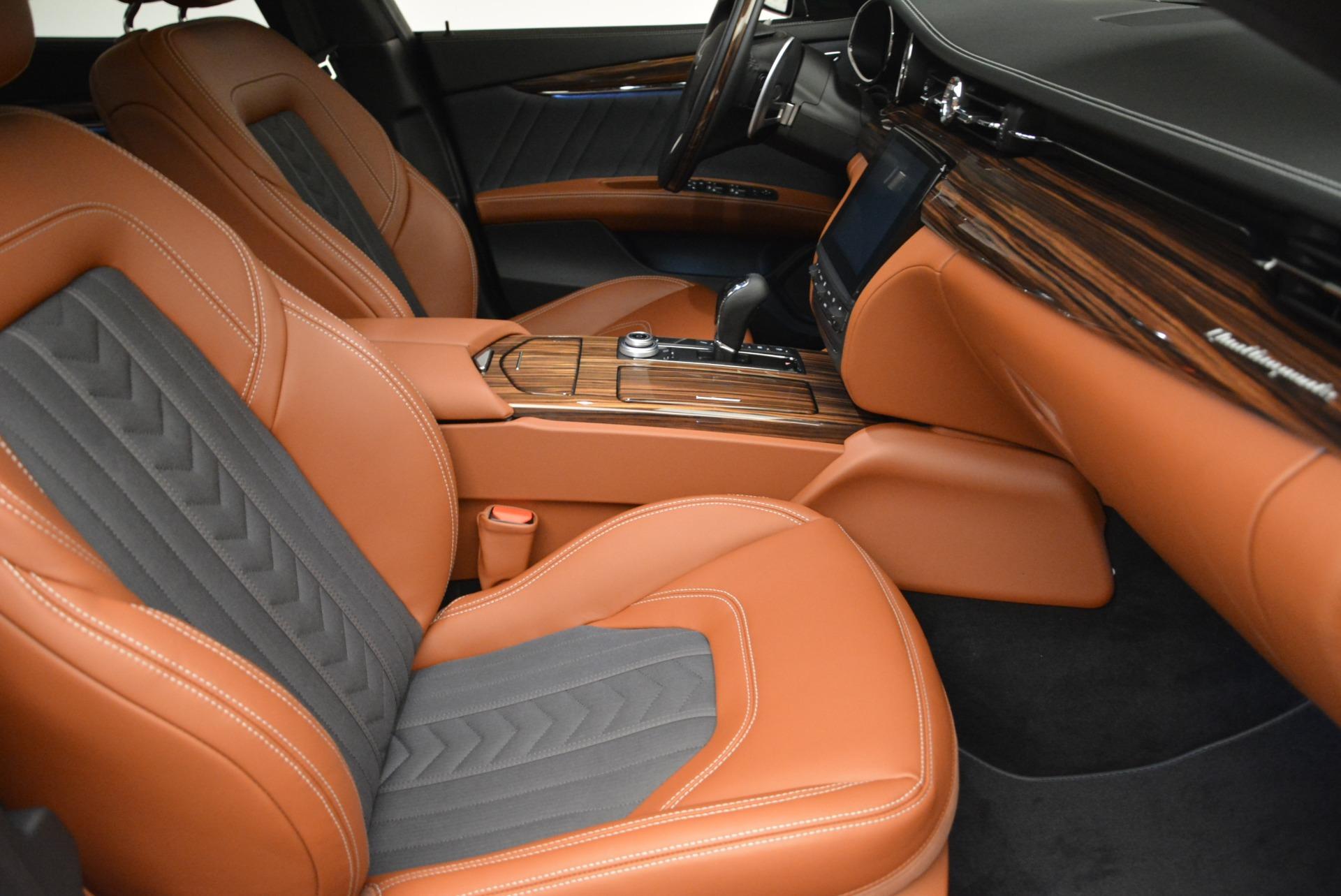 New 2018 Maserati Quattroporte S Q4 GranLusso For Sale In Greenwich, CT. Alfa Romeo of Greenwich, M1978 1816_p21