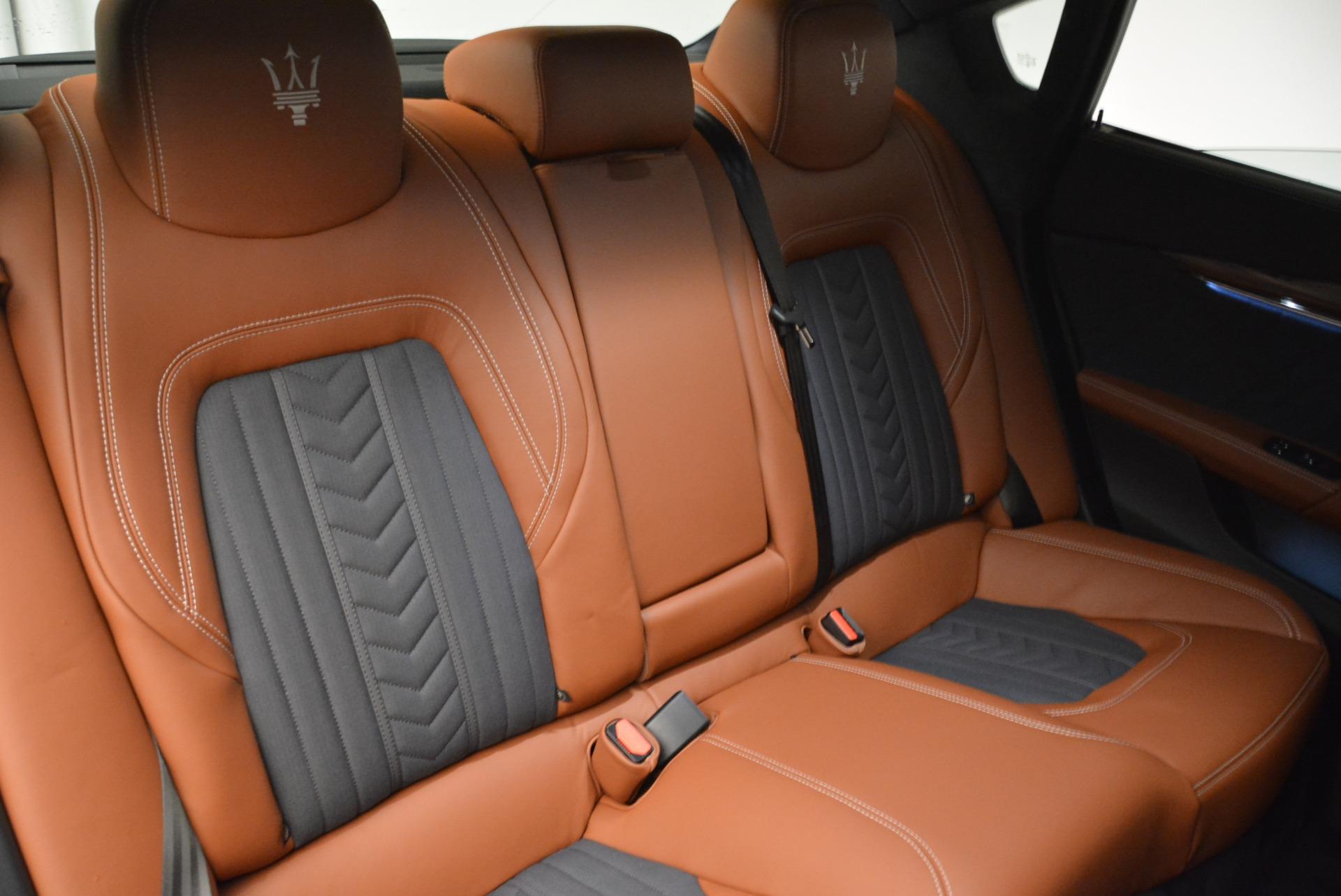 New 2018 Maserati Quattroporte S Q4 GranLusso For Sale In Greenwich, CT. Alfa Romeo of Greenwich, M1978 1816_p25