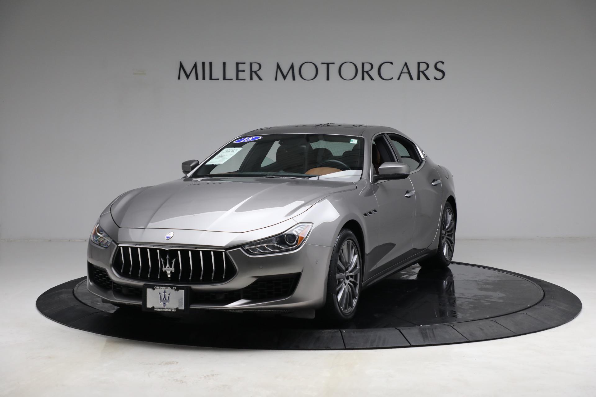 New 2018 Maserati Ghibli S Q4 For Sale In Greenwich, CT. Alfa Romeo of Greenwich, M1981 1819_main