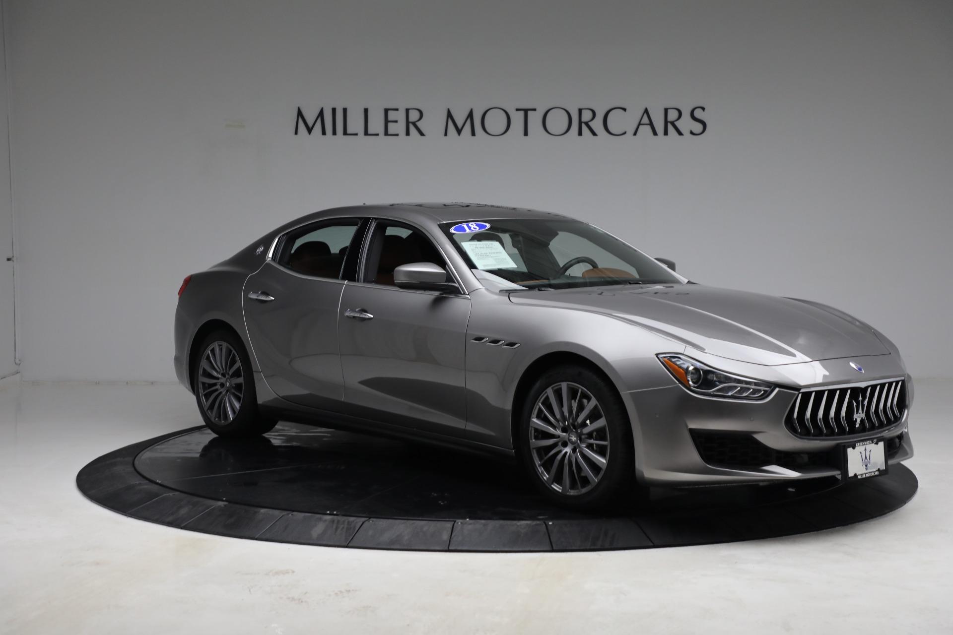 New 2018 Maserati Ghibli S Q4 For Sale In Greenwich, CT. Alfa Romeo of Greenwich, M1981 1819_p7