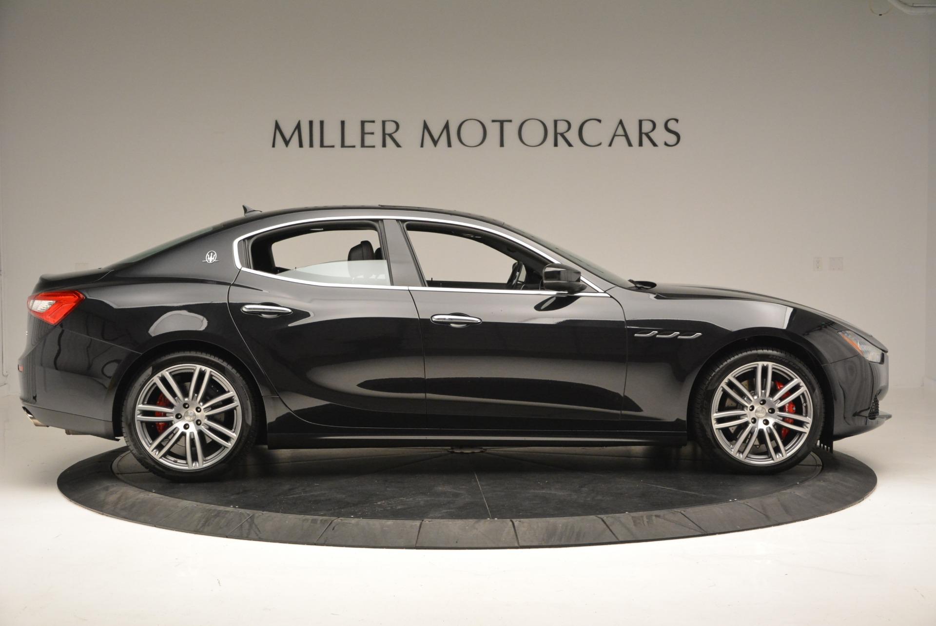 New 2018 Maserati Ghibli S Q4 For Sale In Greenwich, CT. Alfa Romeo of Greenwich, M1982 1820_p9