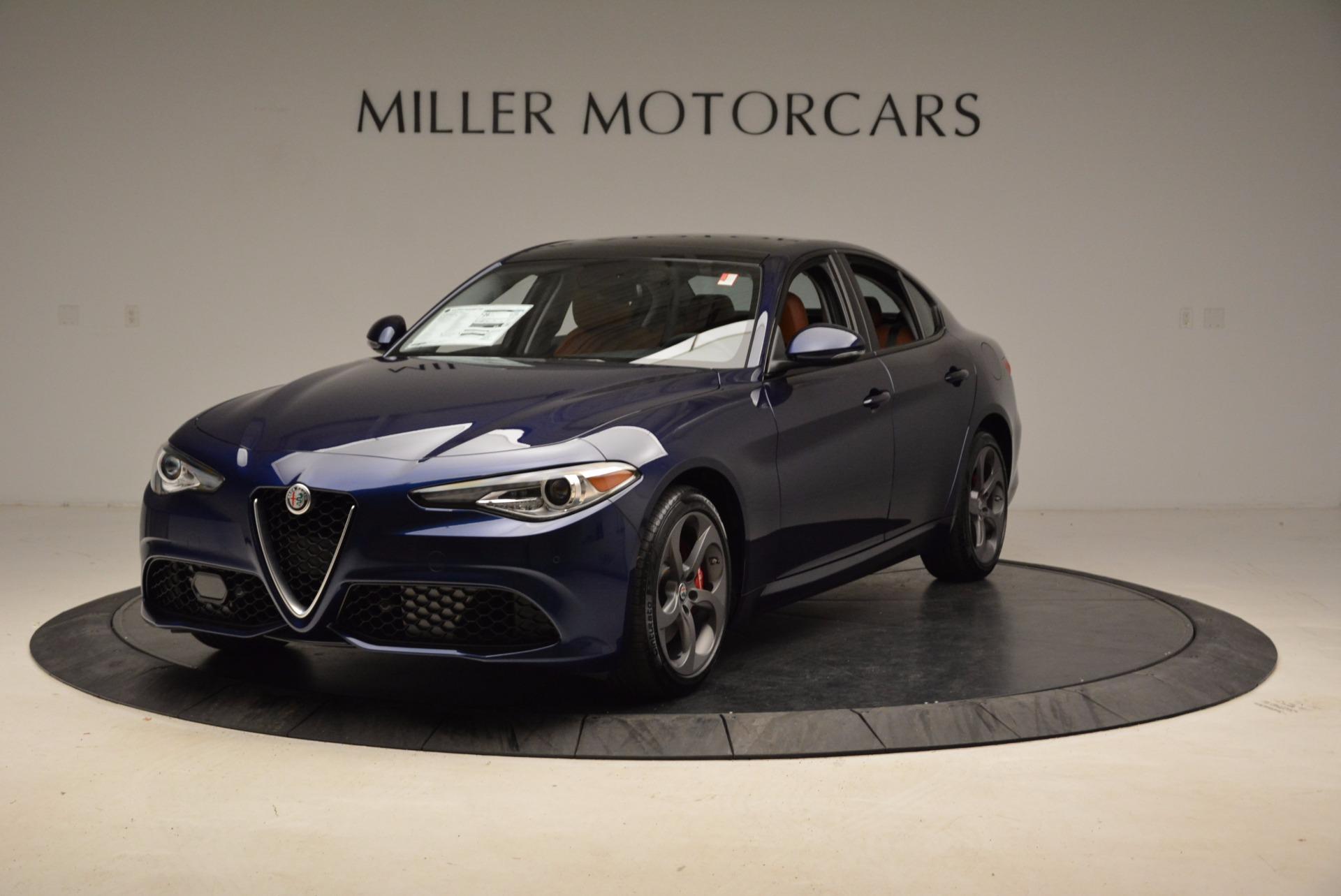 New 2018 Alfa Romeo Giulia Sport Q4 For Sale In Greenwich, CT. Alfa Romeo of Greenwich, LW092 1822_main