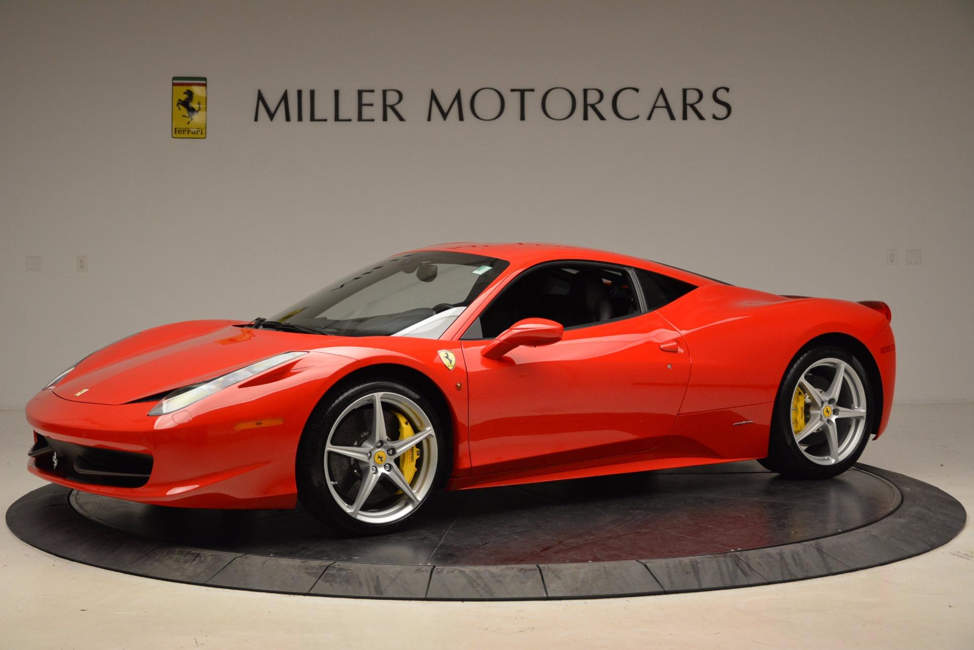 Used 2012 Ferrari 458 Italia  For Sale In Greenwich, CT. Alfa Romeo of Greenwich, 4438 1833_p2