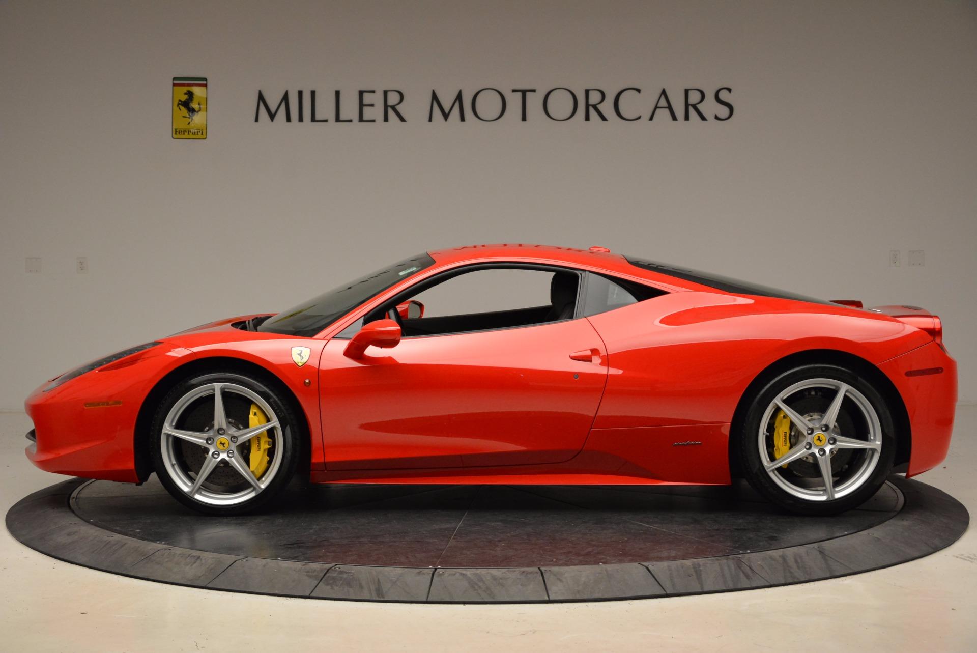 Used 2012 Ferrari 458 Italia  For Sale In Greenwich, CT. Alfa Romeo of Greenwich, 4438 1833_p3