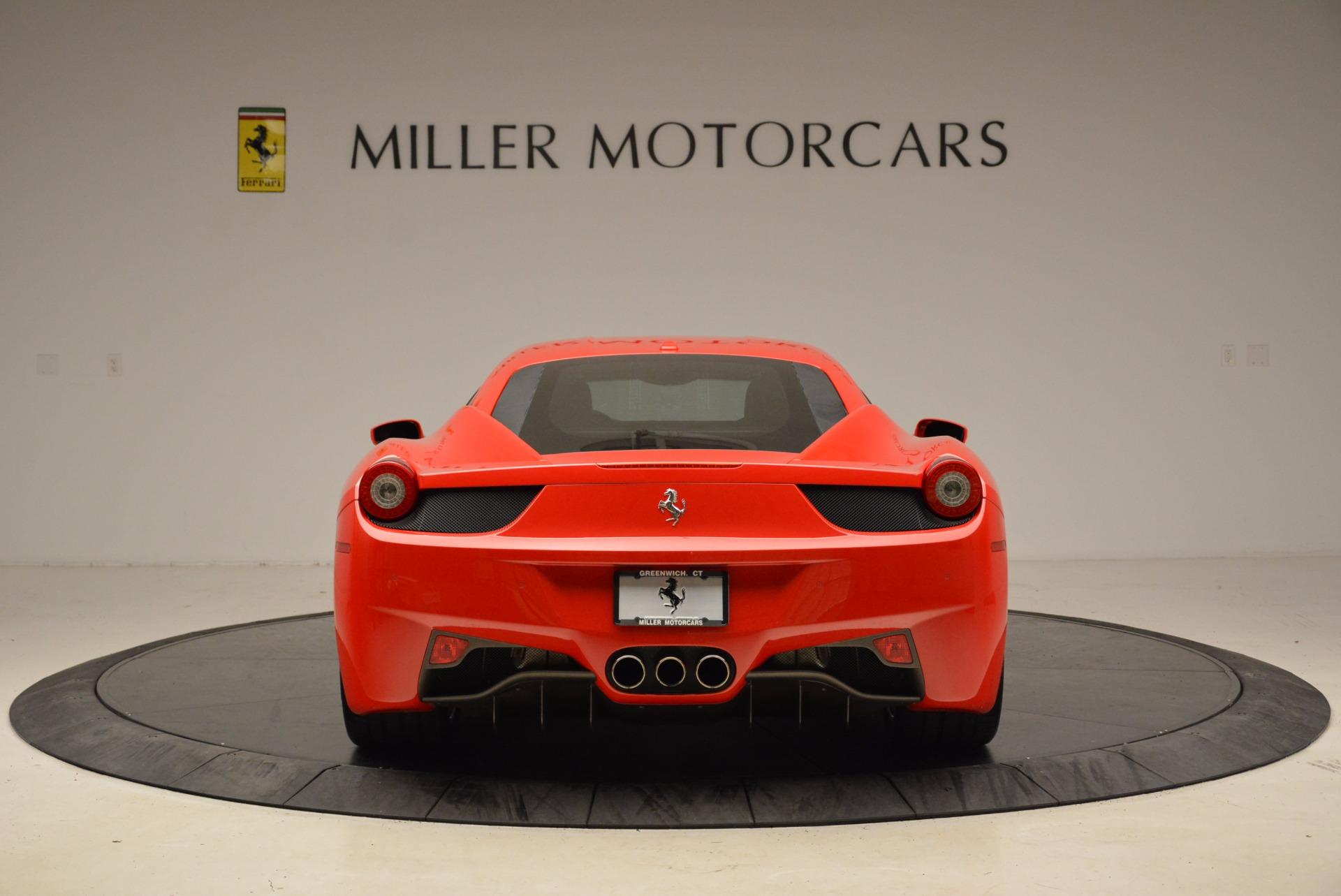 Used 2012 Ferrari 458 Italia  For Sale In Greenwich, CT. Alfa Romeo of Greenwich, 4438 1833_p6