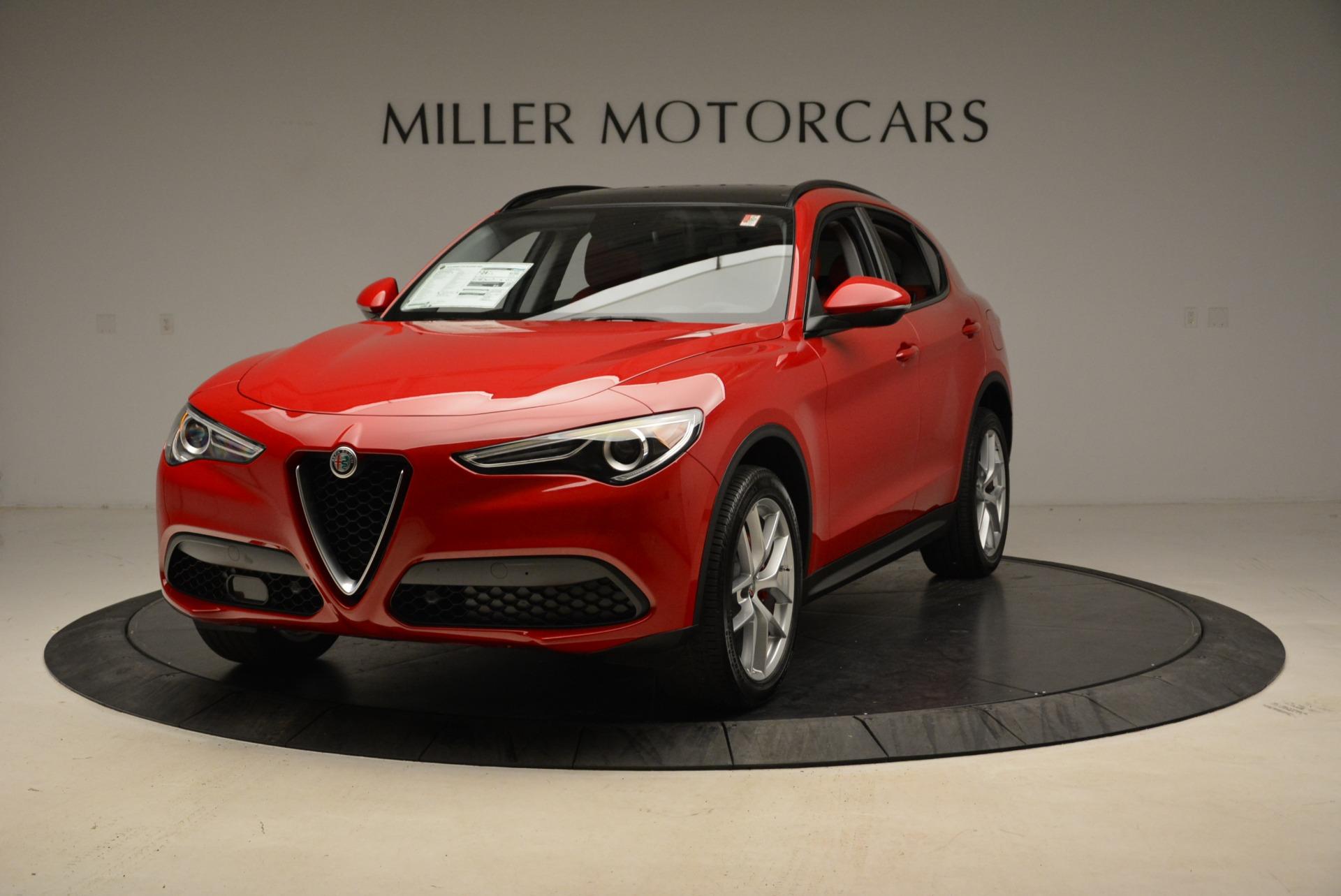 New 2018 Alfa Romeo Stelvio Sport Q4 For Sale In Greenwich, CT. Alfa Romeo of Greenwich, LW100 1834_main