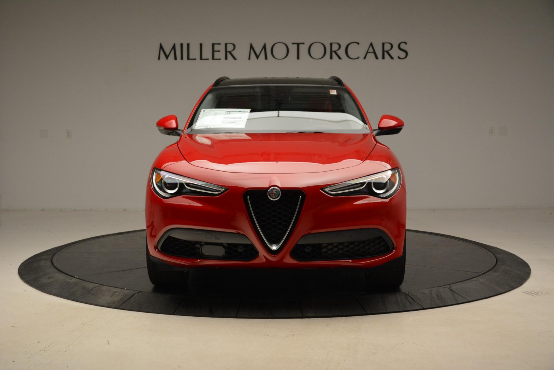 New 2018 Alfa Romeo Stelvio Sport Q4 For Sale In Greenwich, CT. Alfa Romeo of Greenwich, LW100 1834_p12