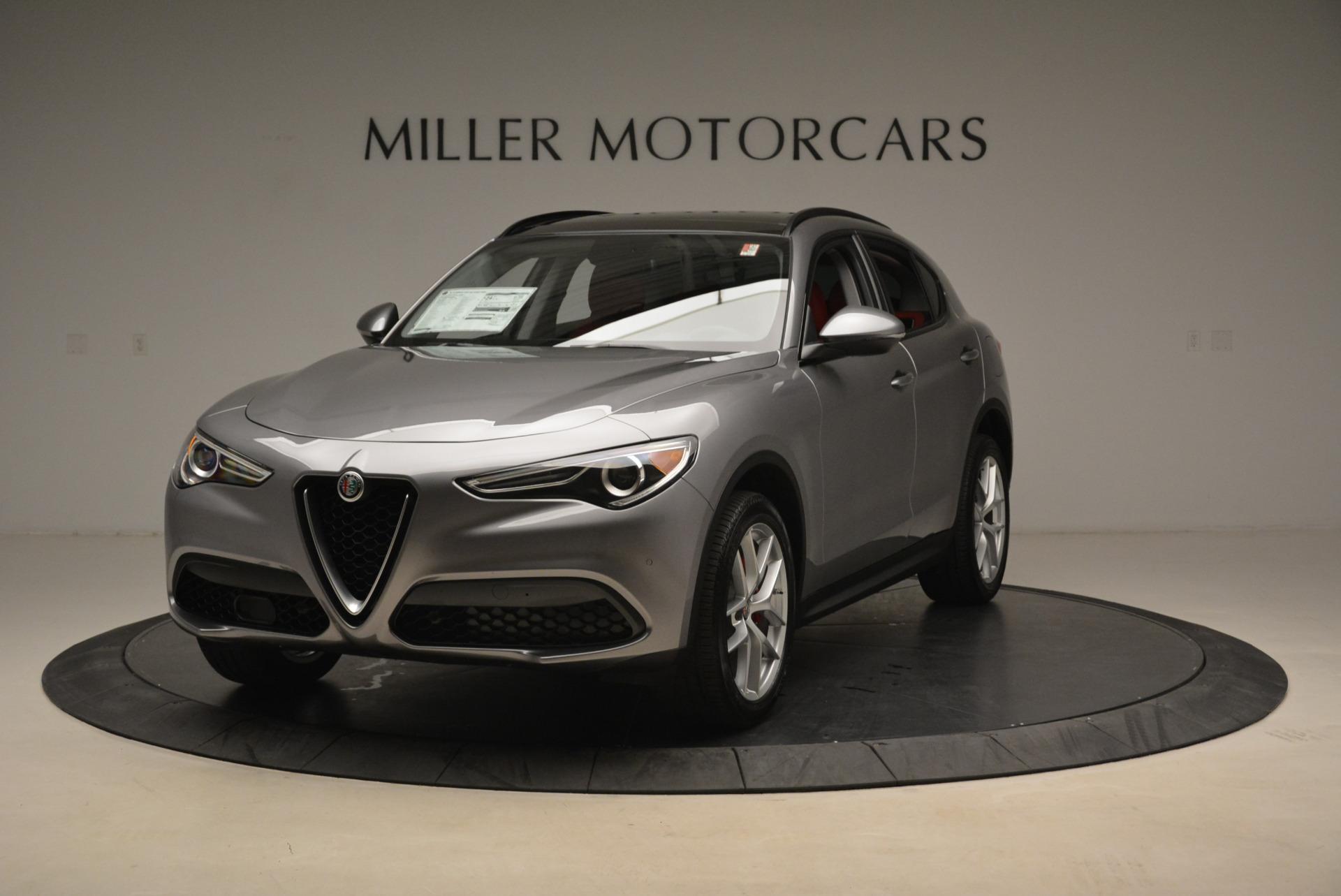 New 2018 Alfa Romeo Stelvio Sport Q4 For Sale In Greenwich, CT. Alfa Romeo of Greenwich, L316 1836_main