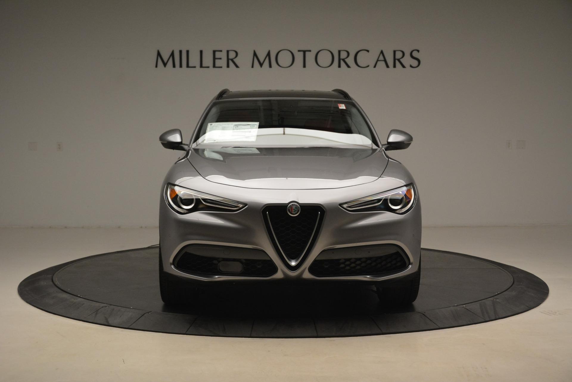 New 2018 Alfa Romeo Stelvio Sport Q4 For Sale In Greenwich, CT. Alfa Romeo of Greenwich, L316 1836_p12