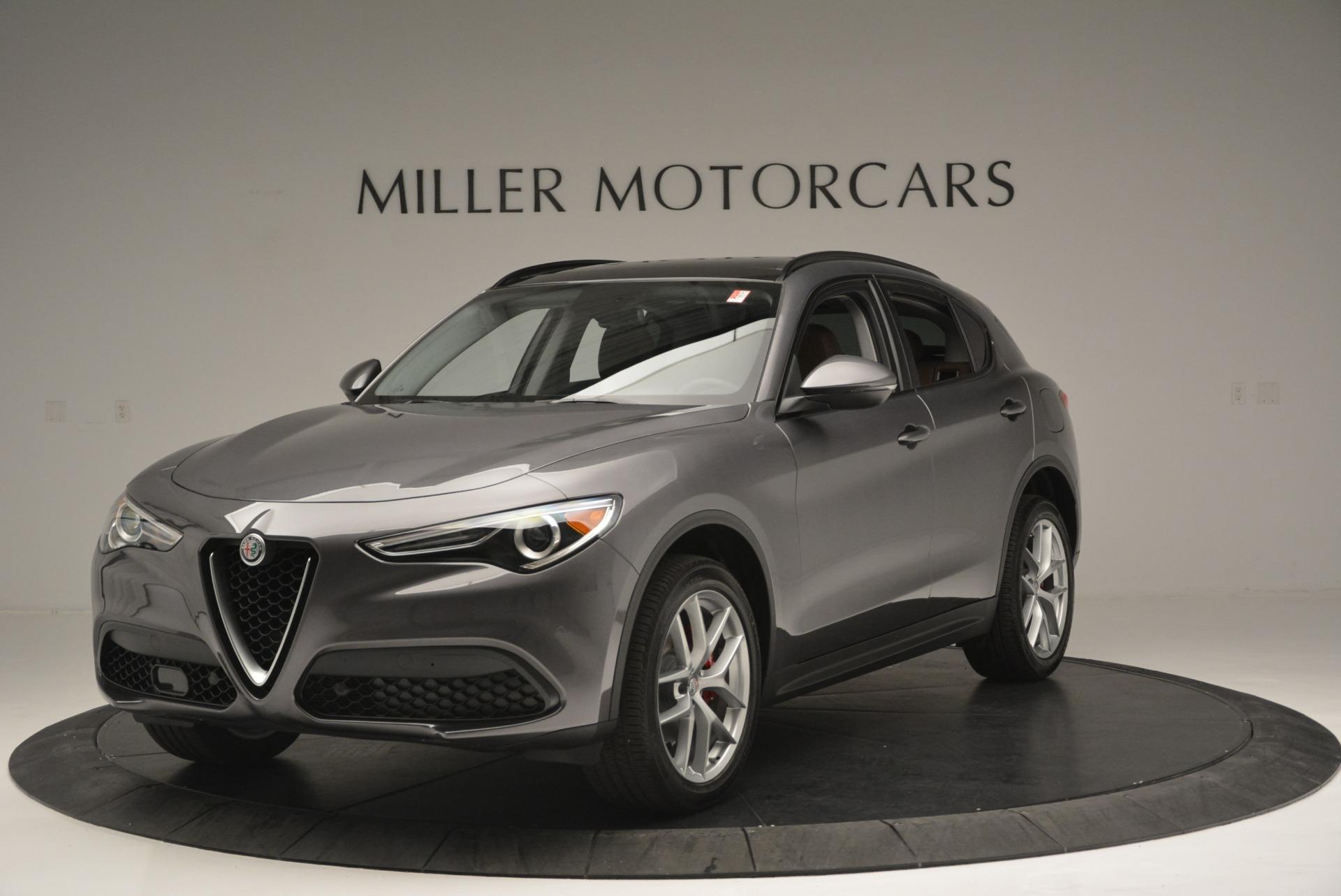 New 2018 Alfa Romeo Stelvio Sport Q4 For Sale In Greenwich, CT. Alfa Romeo of Greenwich, L315 1837_main