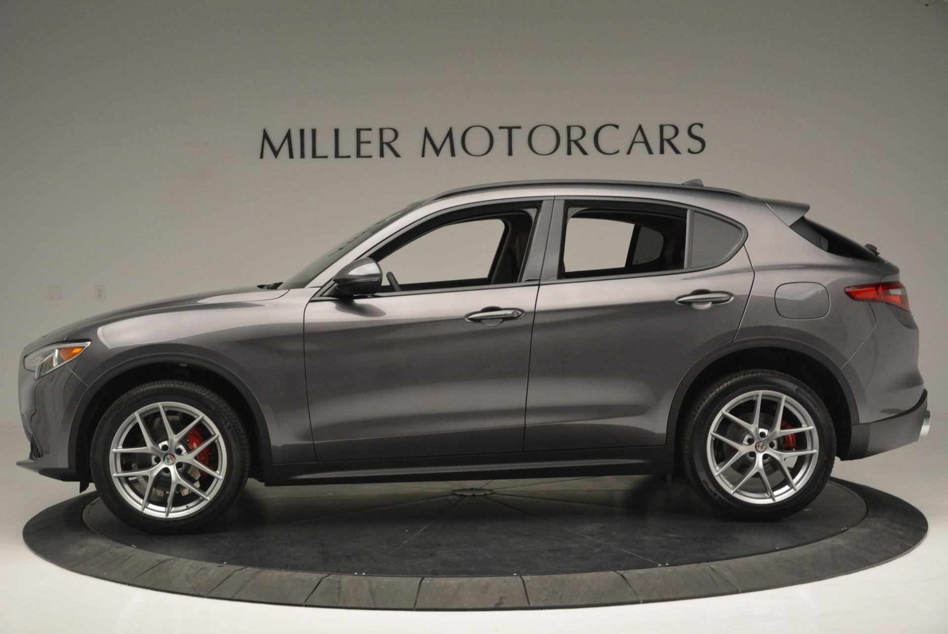 New 2018 Alfa Romeo Stelvio Sport Q4 For Sale In Greenwich, CT. Alfa Romeo of Greenwich, L315 1837_p3