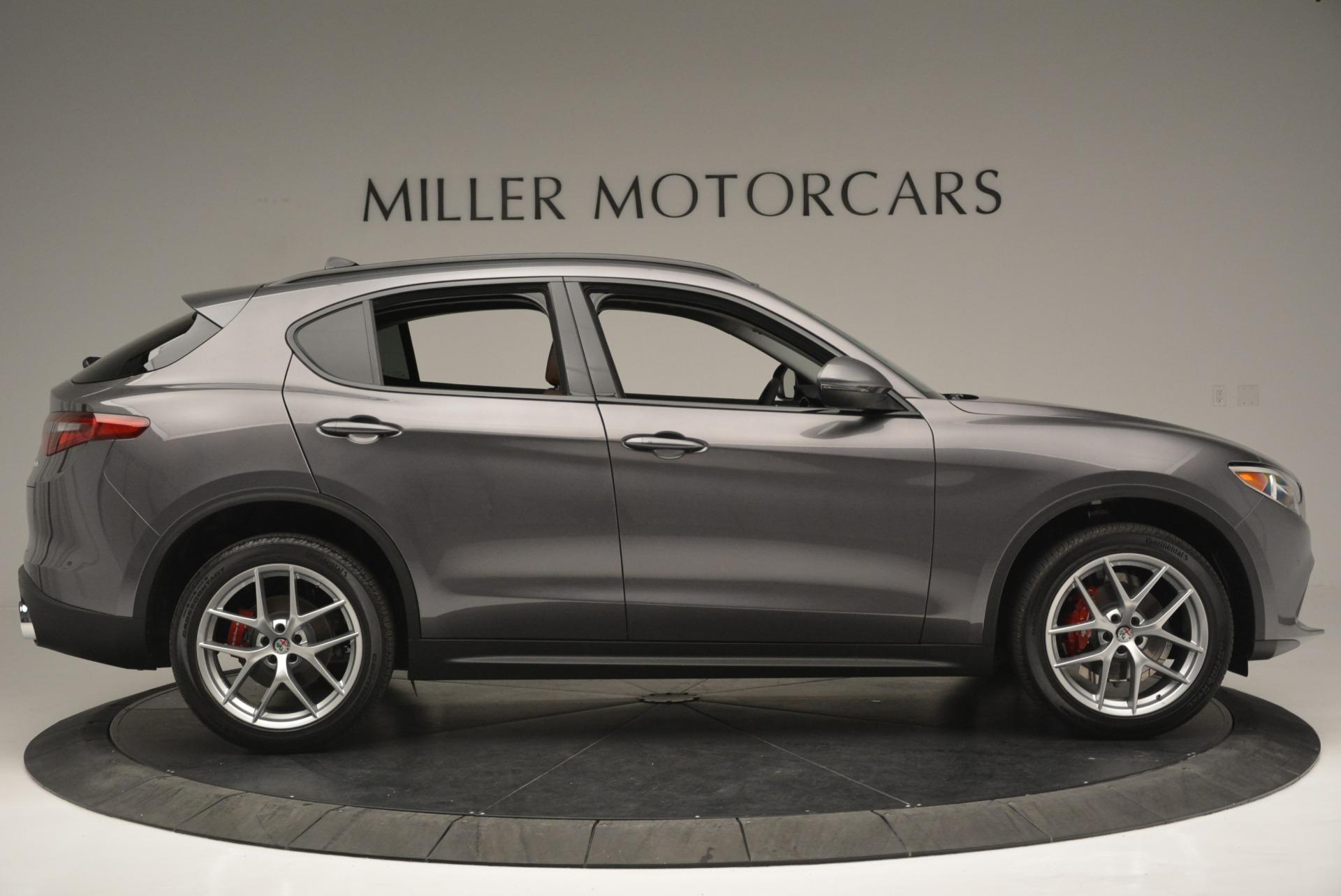 New 2018 Alfa Romeo Stelvio Sport Q4 For Sale In Greenwich, CT. Alfa Romeo of Greenwich, L315 1837_p9