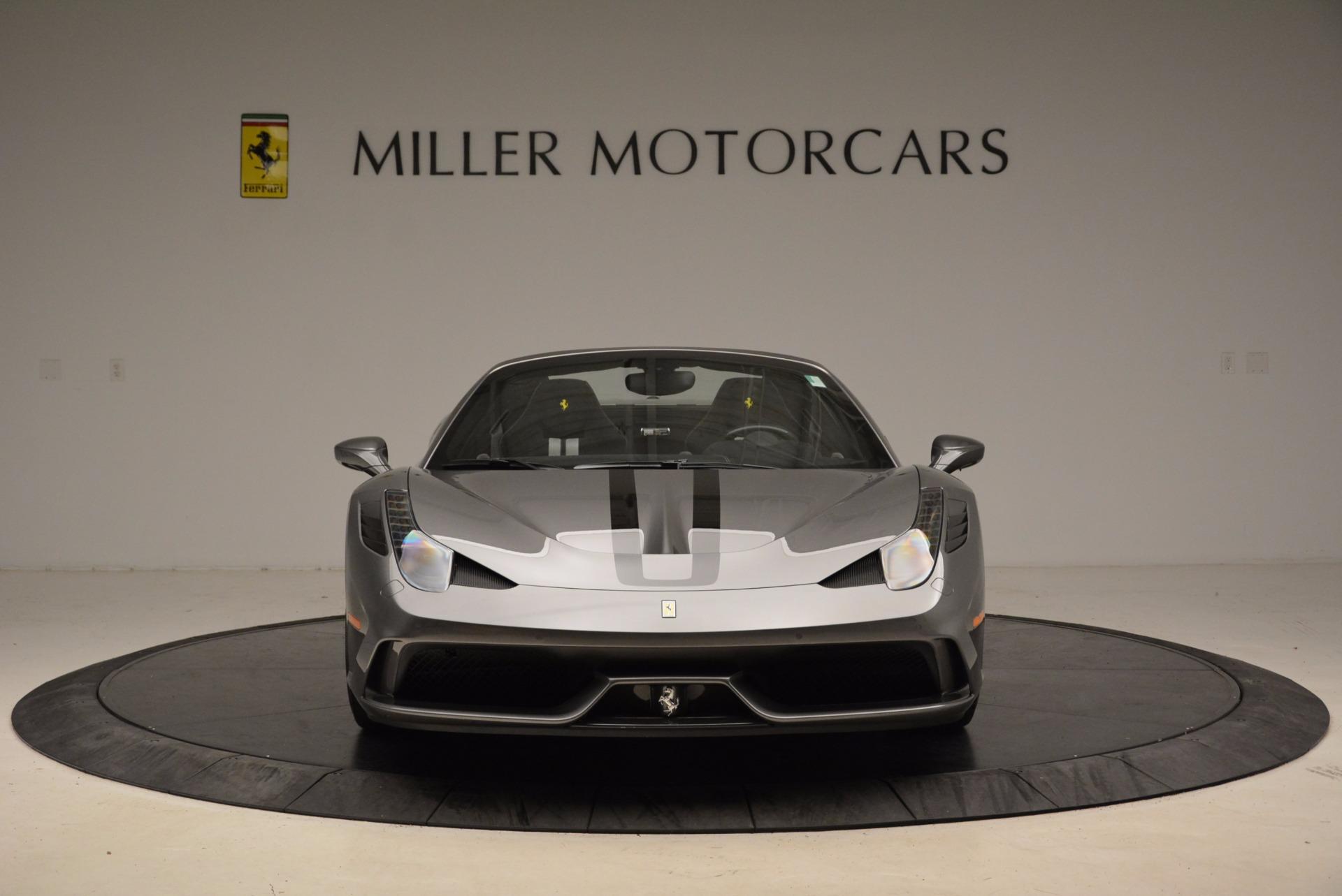 Used 2015 Ferrari 458 Speciale Aperta  For Sale In Greenwich, CT. Alfa Romeo of Greenwich, 4439 1847_p12