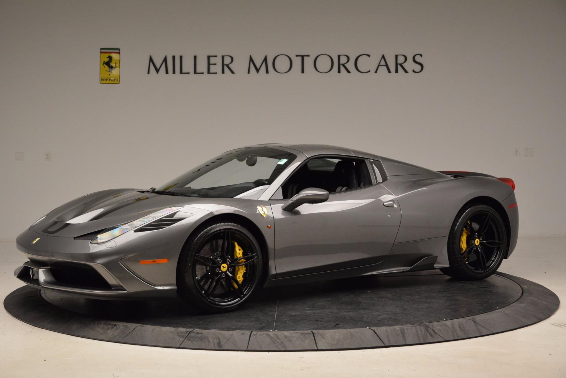 Used 2015 Ferrari 458 Speciale Aperta  For Sale In Greenwich, CT. Alfa Romeo of Greenwich, 4439 1847_p14