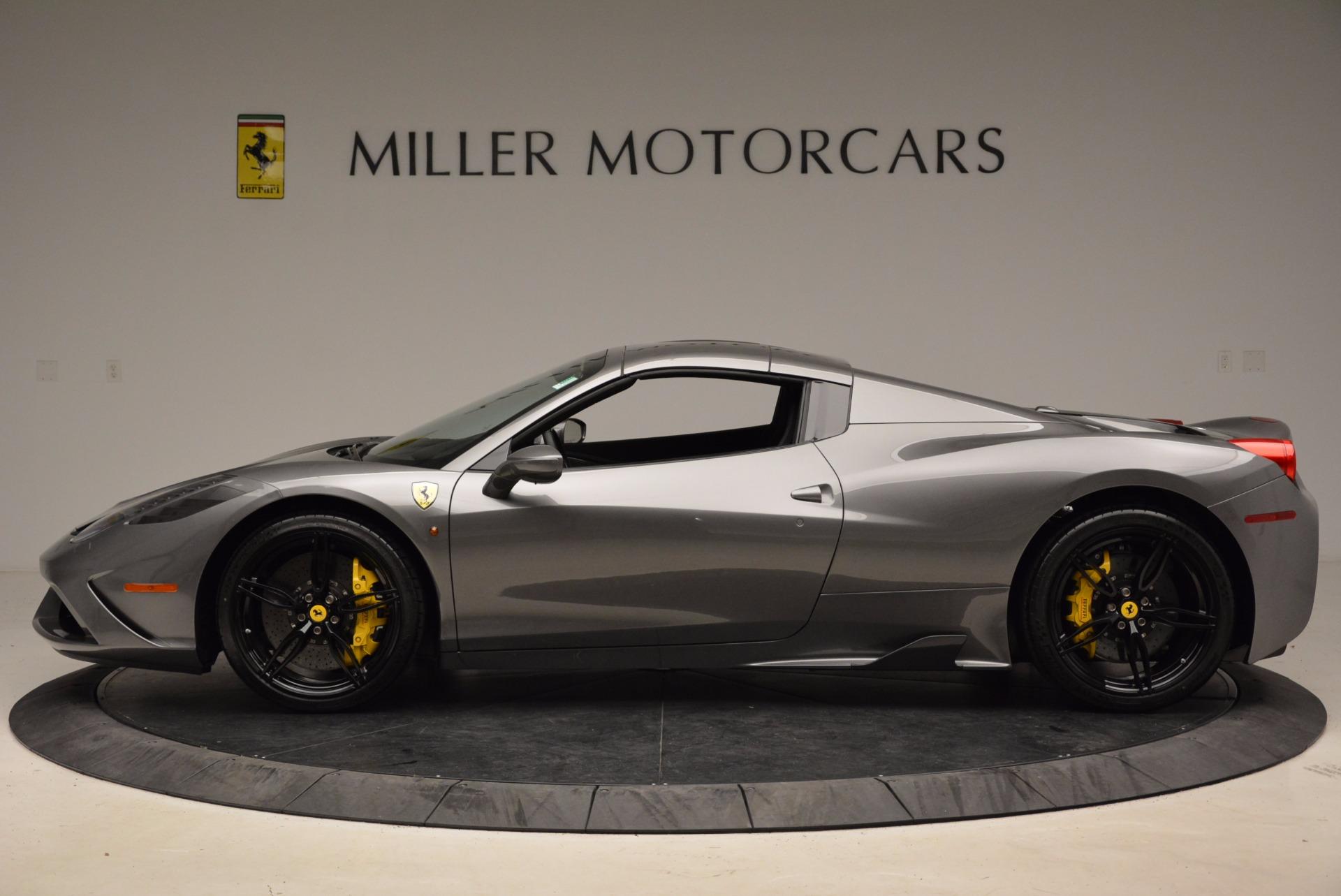 Used 2015 Ferrari 458 Speciale Aperta  For Sale In Greenwich, CT. Alfa Romeo of Greenwich, 4439 1847_p15