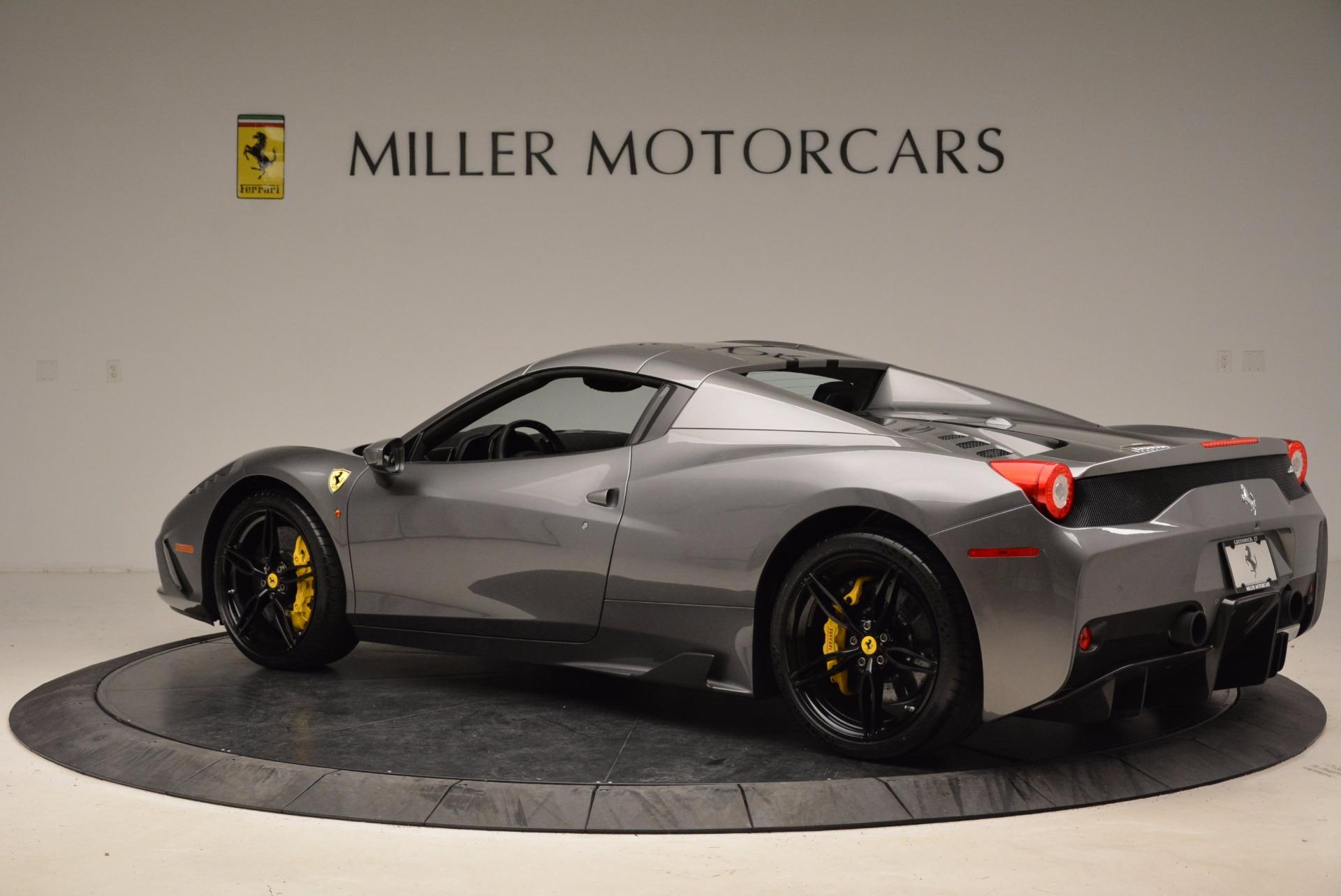 Used 2015 Ferrari 458 Speciale Aperta  For Sale In Greenwich, CT. Alfa Romeo of Greenwich, 4439 1847_p16
