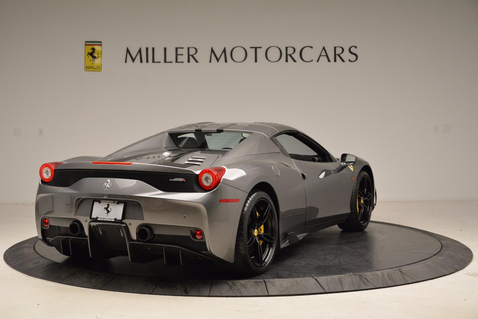 Used 2015 Ferrari 458 Speciale Aperta  For Sale In Greenwich, CT. Alfa Romeo of Greenwich, 4439 1847_p19