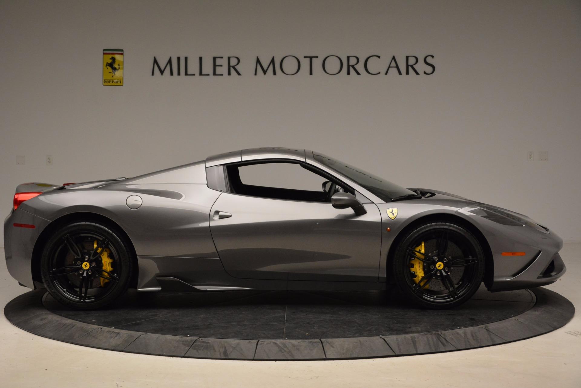 Used 2015 Ferrari 458 Speciale Aperta  For Sale In Greenwich, CT. Alfa Romeo of Greenwich, 4439 1847_p21