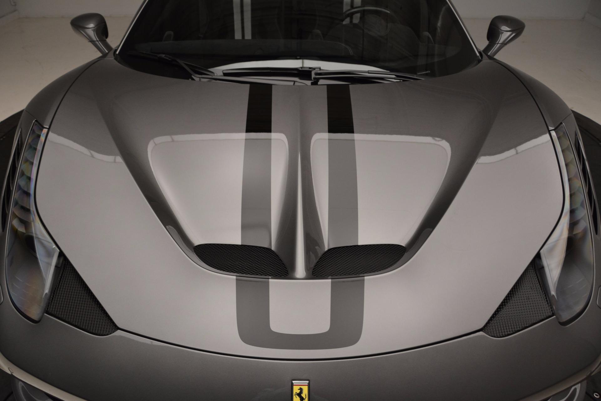 Used 2015 Ferrari 458 Speciale Aperta  For Sale In Greenwich, CT. Alfa Romeo of Greenwich, 4439 1847_p25