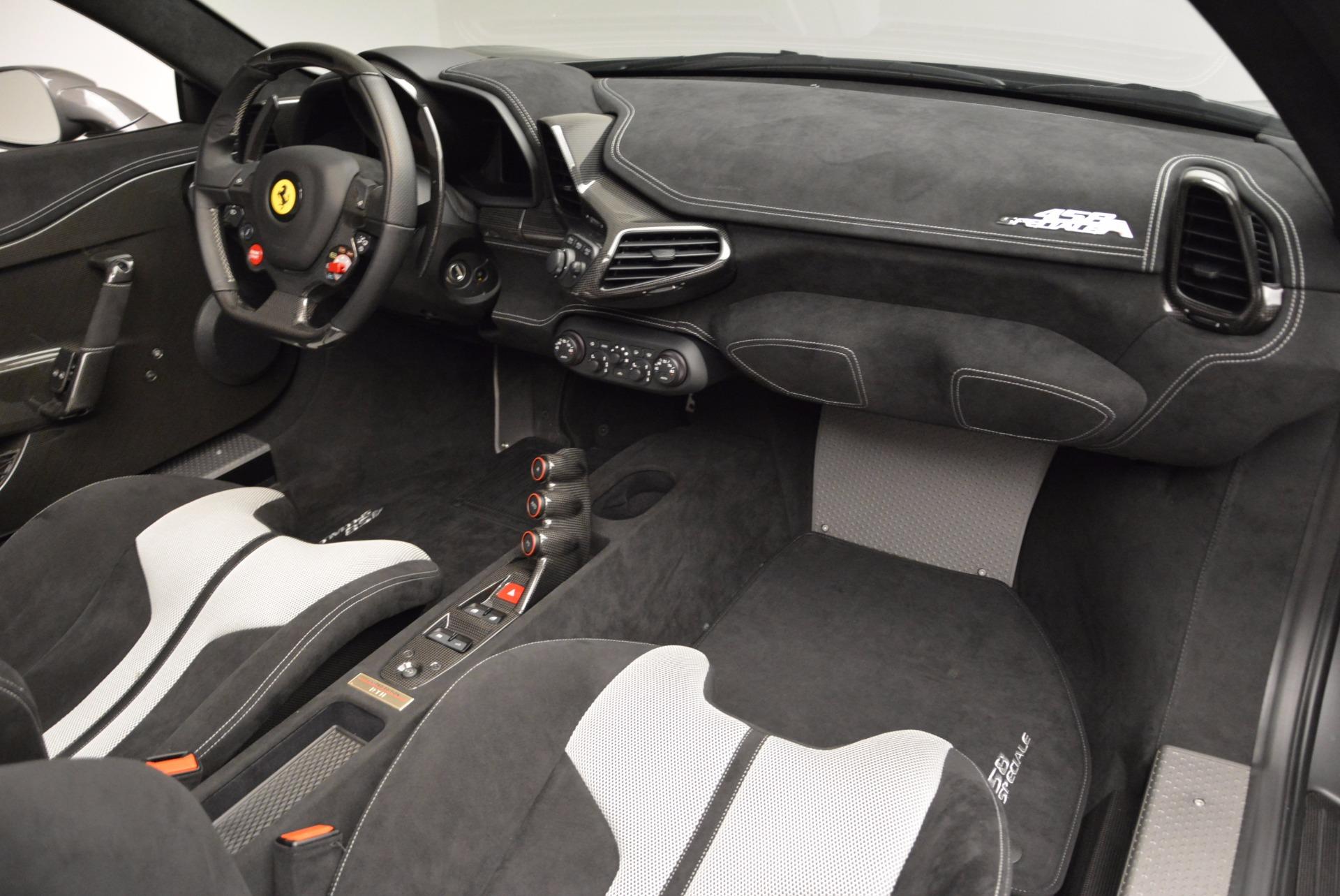 Used 2015 Ferrari 458 Speciale Aperta  For Sale In Greenwich, CT. Alfa Romeo of Greenwich, 4439 1847_p30