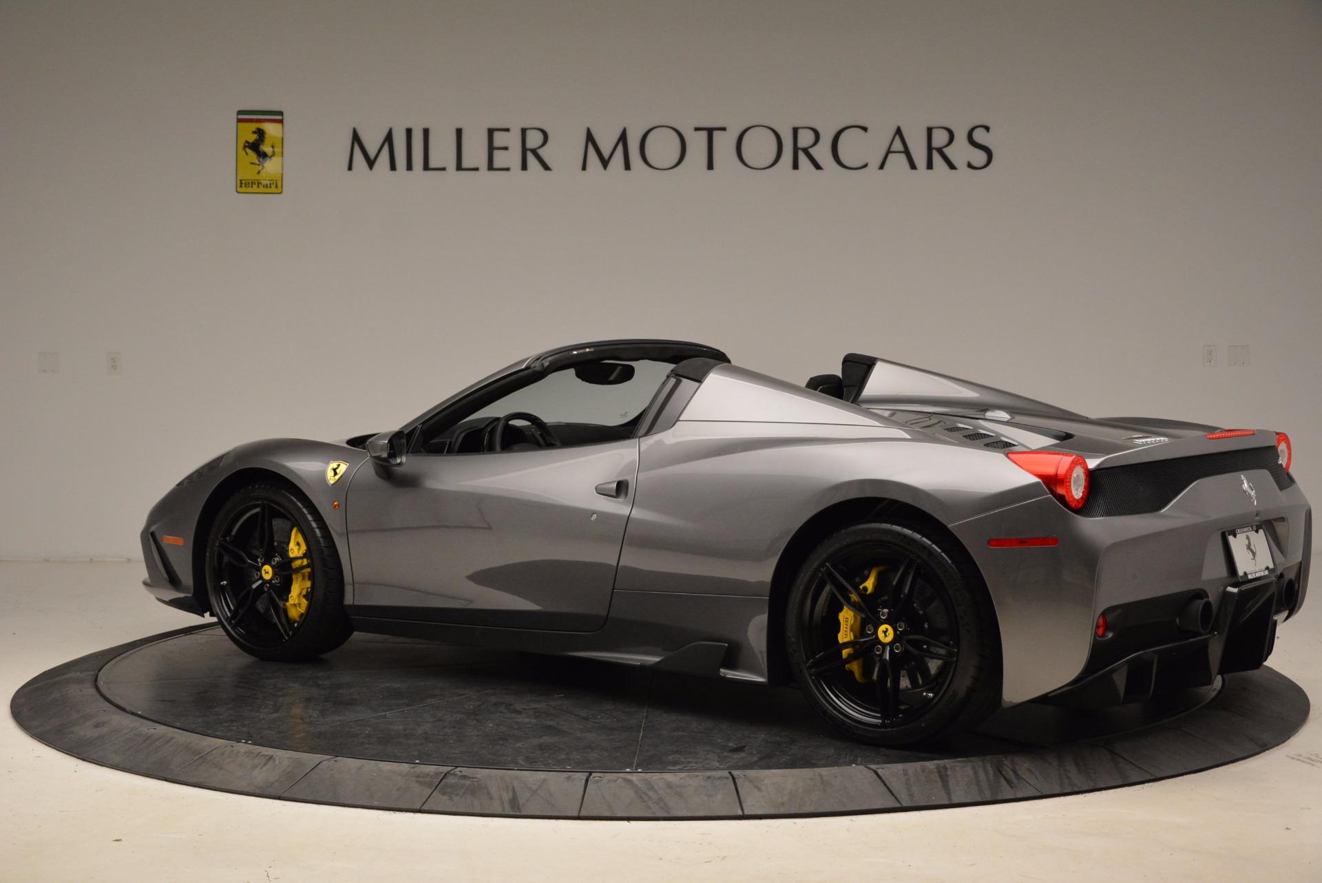 Used 2015 Ferrari 458 Speciale Aperta  For Sale In Greenwich, CT. Alfa Romeo of Greenwich, 4439 1847_p4