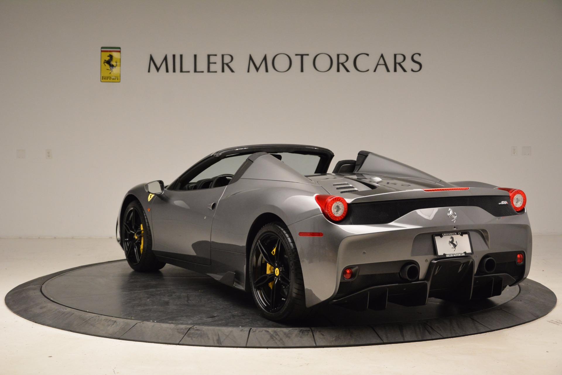 Used 2015 Ferrari 458 Speciale Aperta  For Sale In Greenwich, CT. Alfa Romeo of Greenwich, 4439 1847_p5