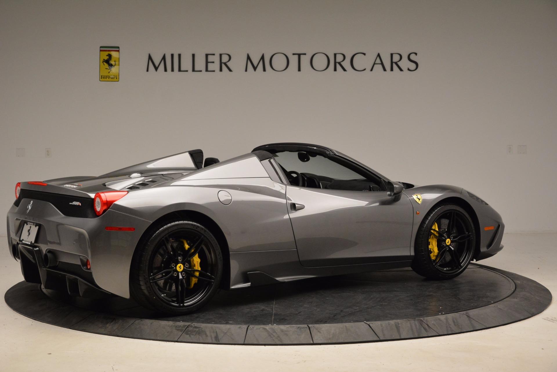 Used 2015 Ferrari 458 Speciale Aperta  For Sale In Greenwich, CT. Alfa Romeo of Greenwich, 4439 1847_p8