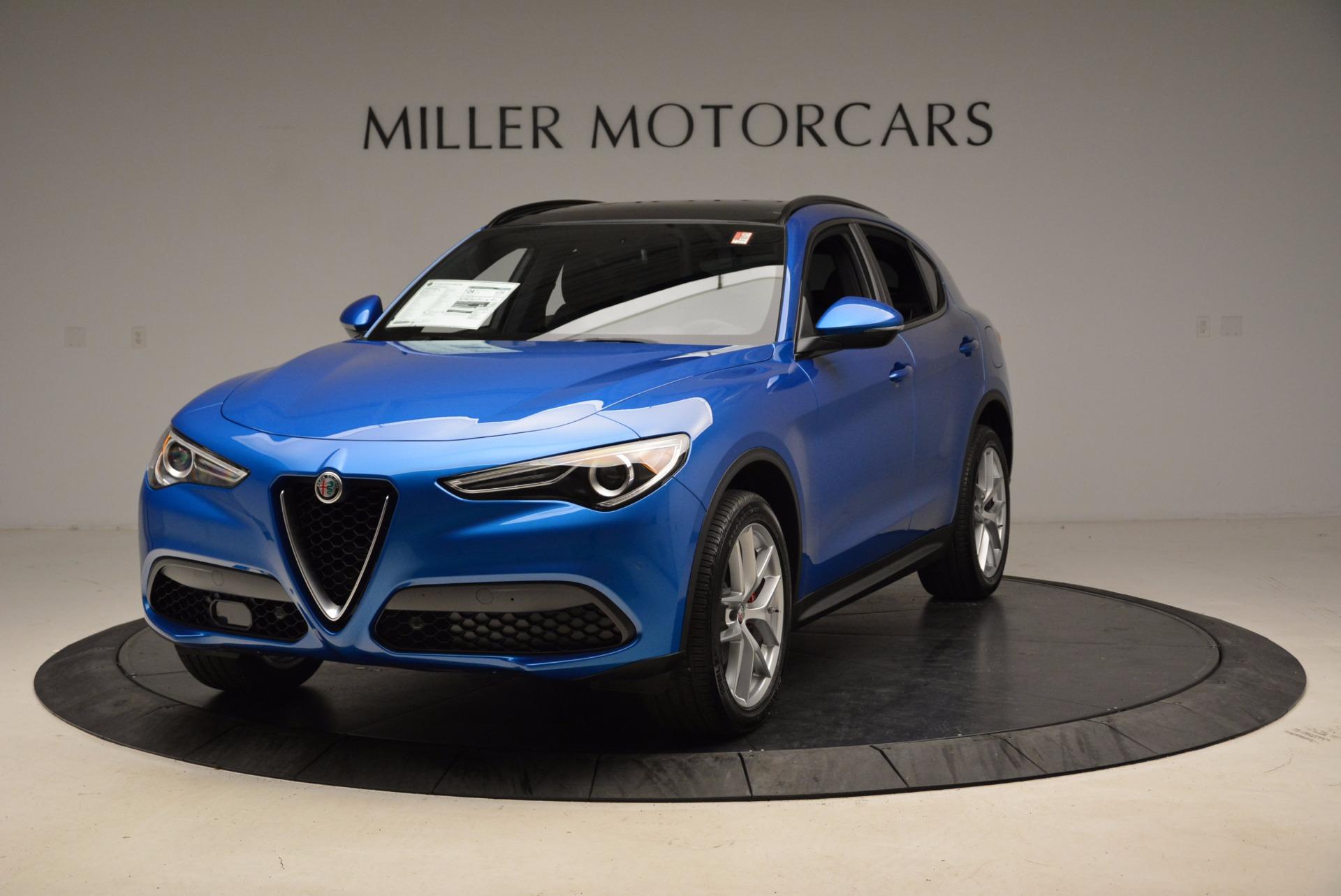 New 2018 Alfa Romeo Stelvio Ti Sport Q4 For Sale In Greenwich, CT. Alfa Romeo of Greenwich, L320 1849_main