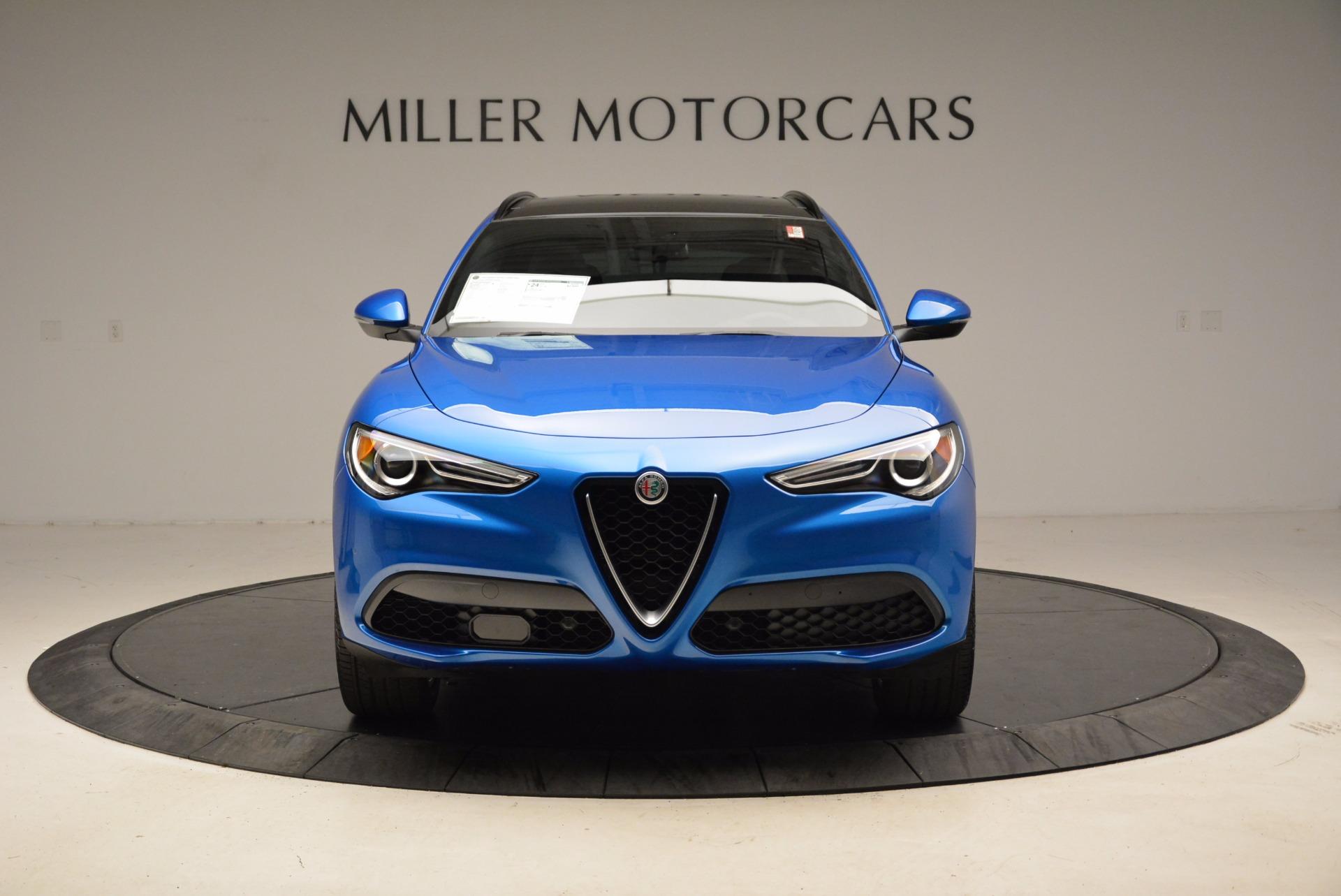 New 2018 Alfa Romeo Stelvio Ti Sport Q4 For Sale In Greenwich, CT. Alfa Romeo of Greenwich, L320 1849_p12